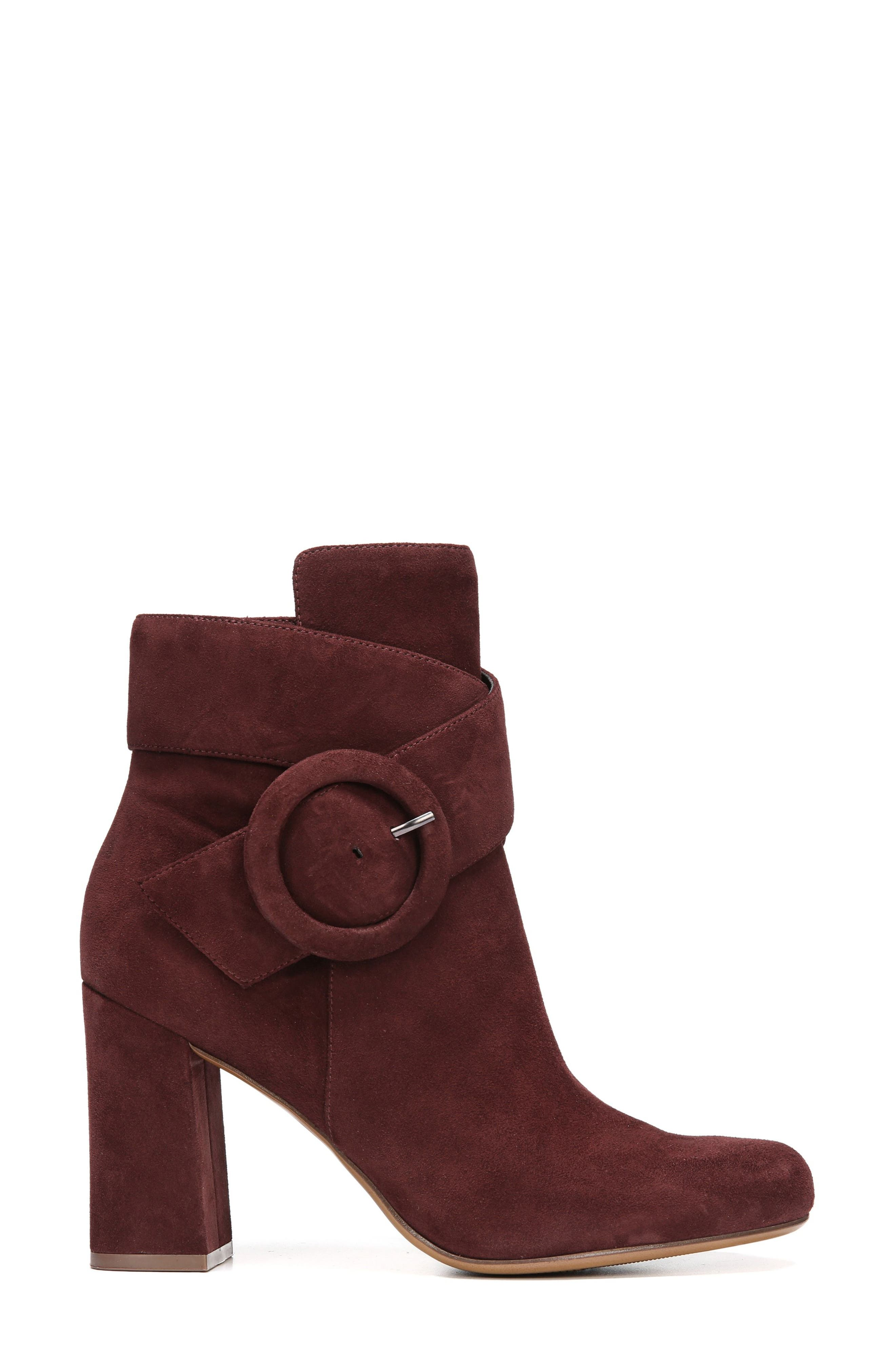 Nautralizer Rae Bootie,                             Alternate thumbnail 3, color,                             Bordo Leather