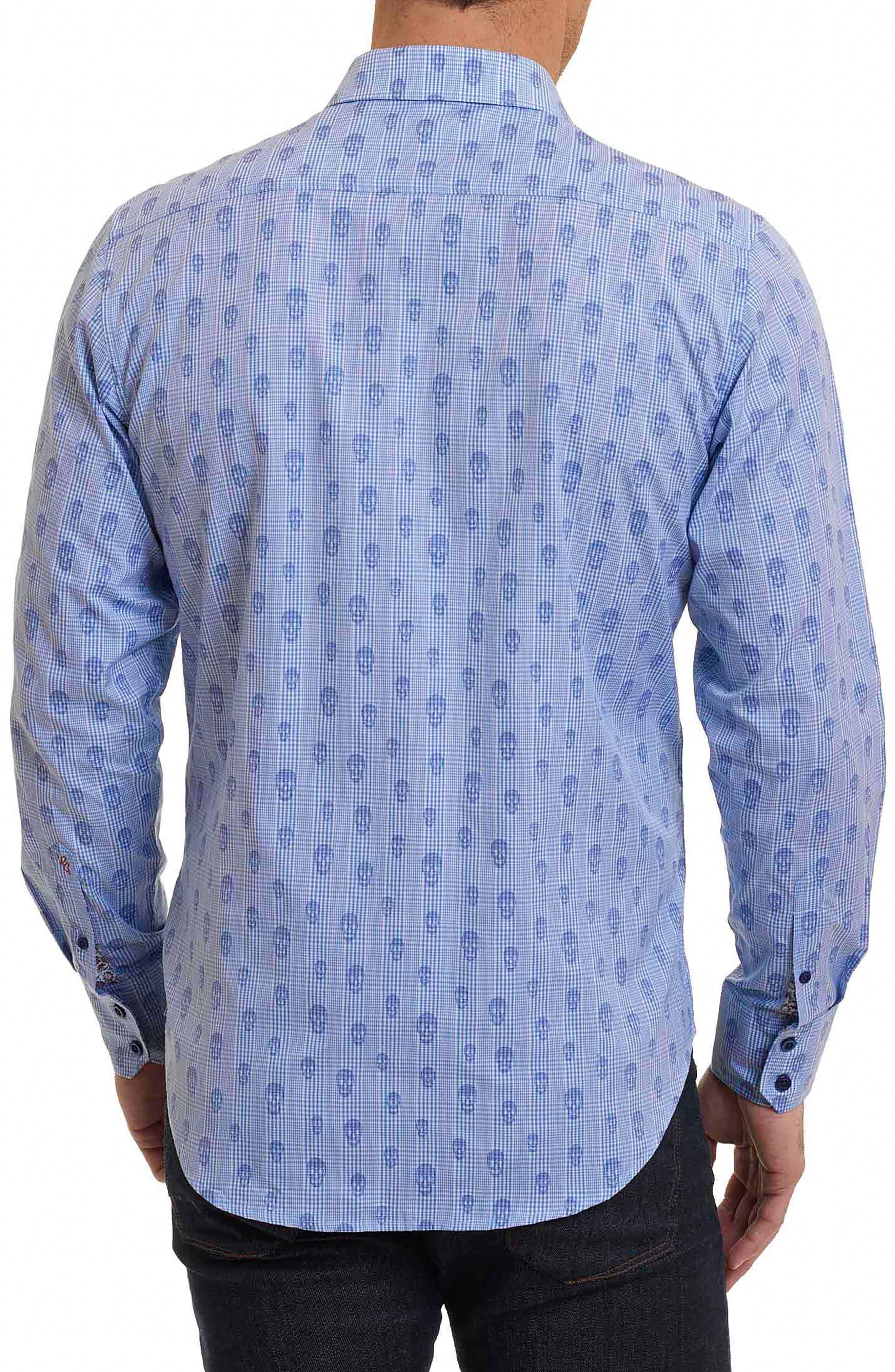 Alternate Image 2  - Robert Graham Kinderhook Classic Fit Skull Check Sport Shirt