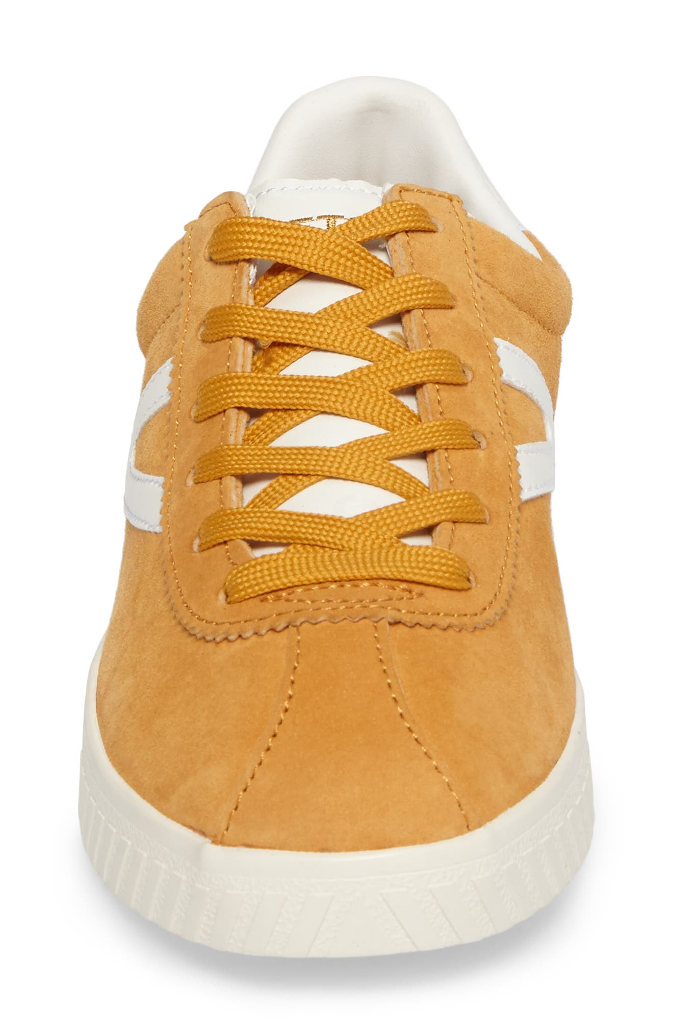 'Camden 3' Sneaker,                             Alternate thumbnail 4, color,                             Yellow/ White