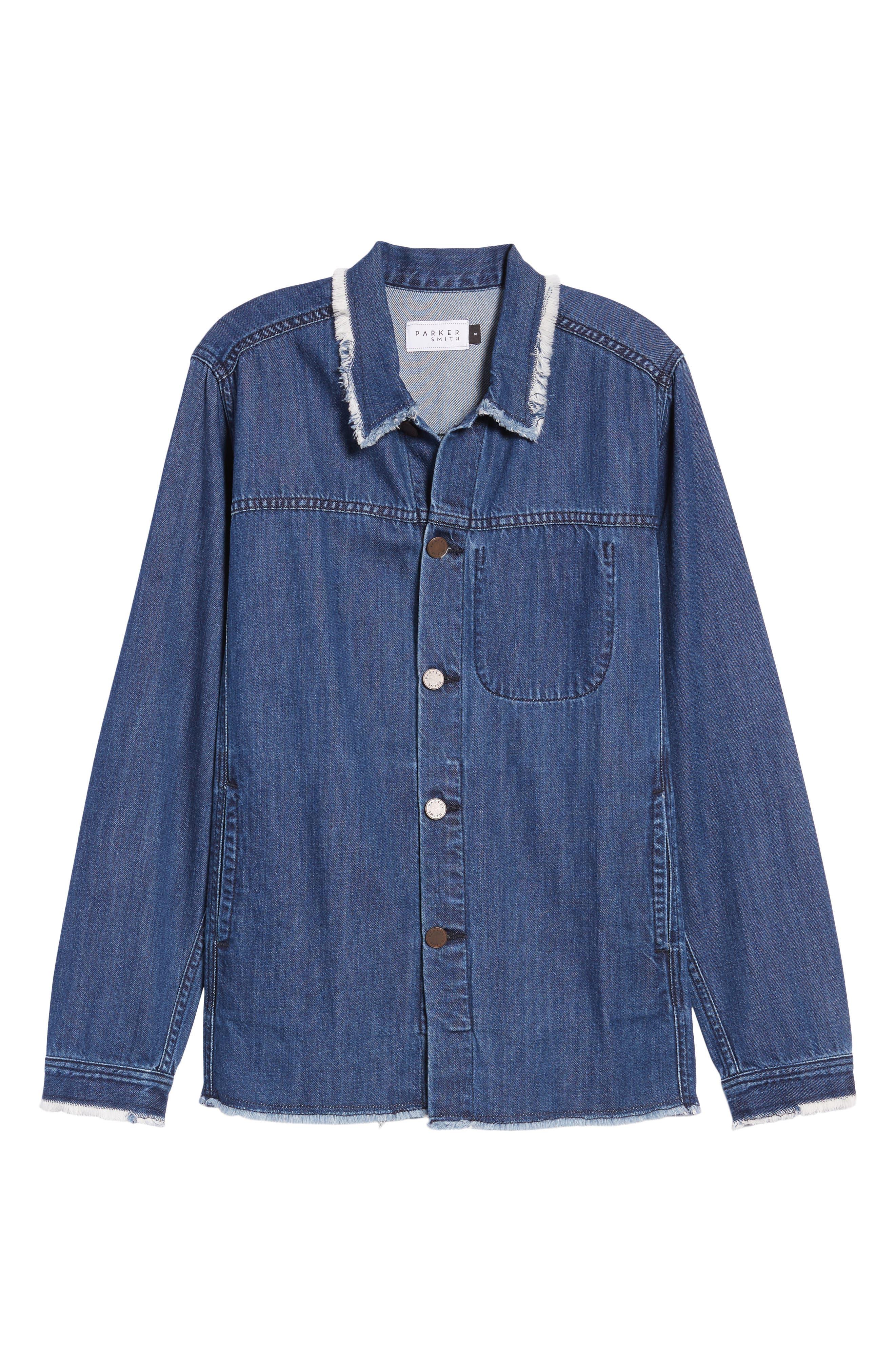 Gavin Shirt Jacket,                             Alternate thumbnail 6, color,                             Altitude