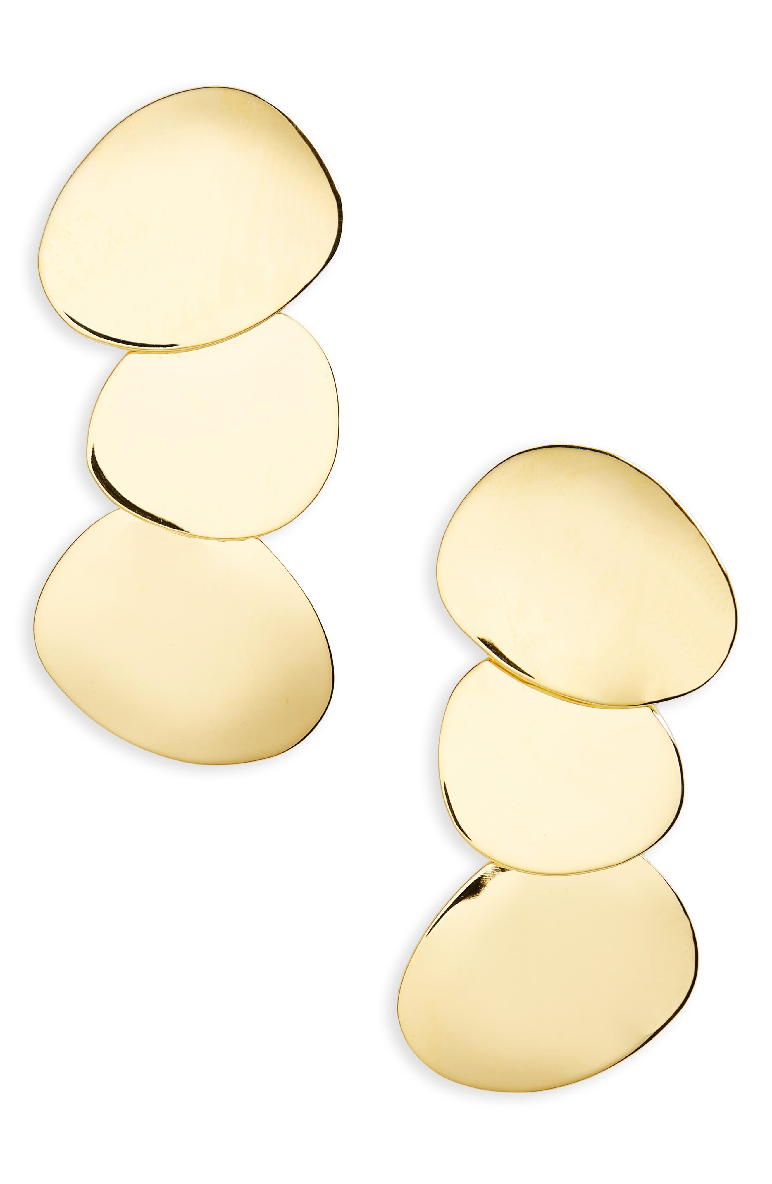 Goldworhty Drop Earrings,                         Main,                         color, Gold