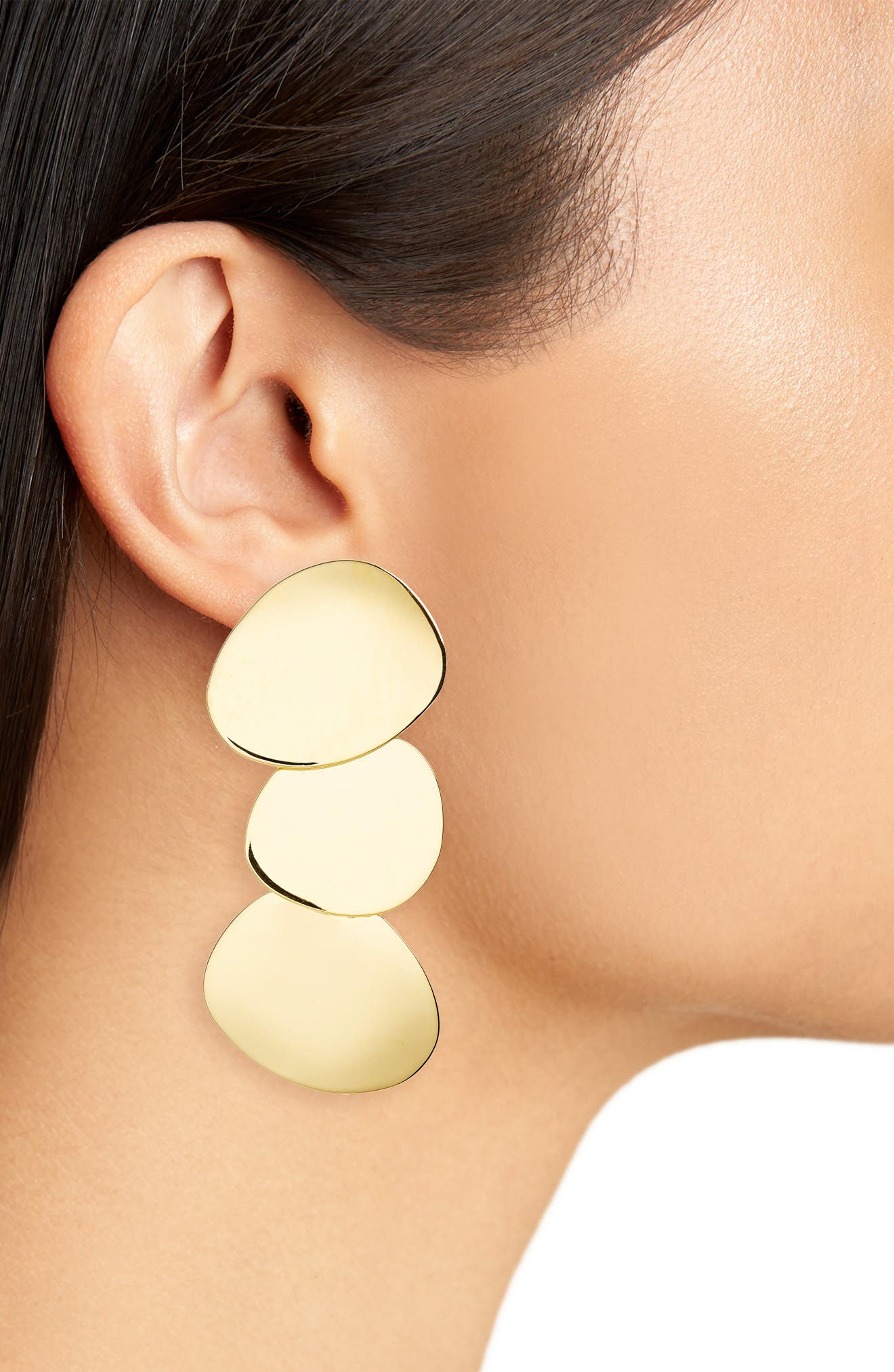 Goldworhty Drop Earrings,                             Alternate thumbnail 2, color,                             Gold