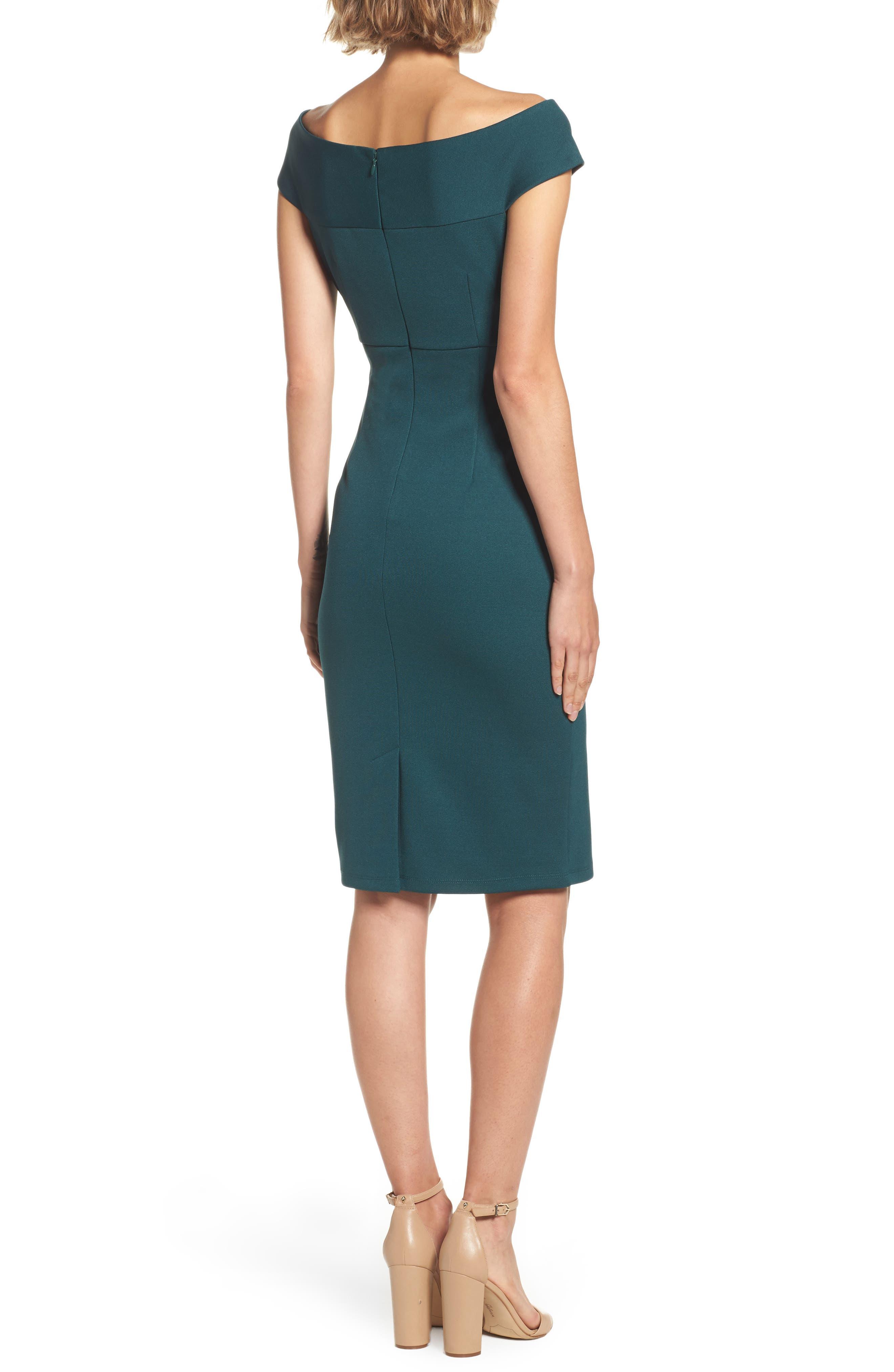 Alternate Image 2  - Adrianna Papell Sheath Dress (Regular & Petite)