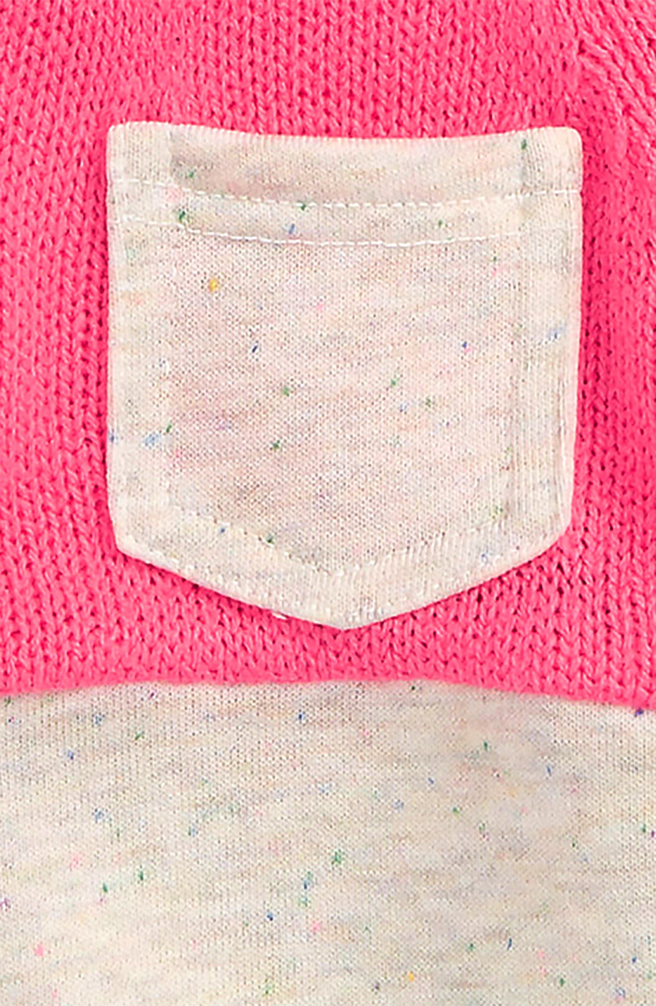 Mixed Sweater,                             Alternate thumbnail 2, color,                             Pink