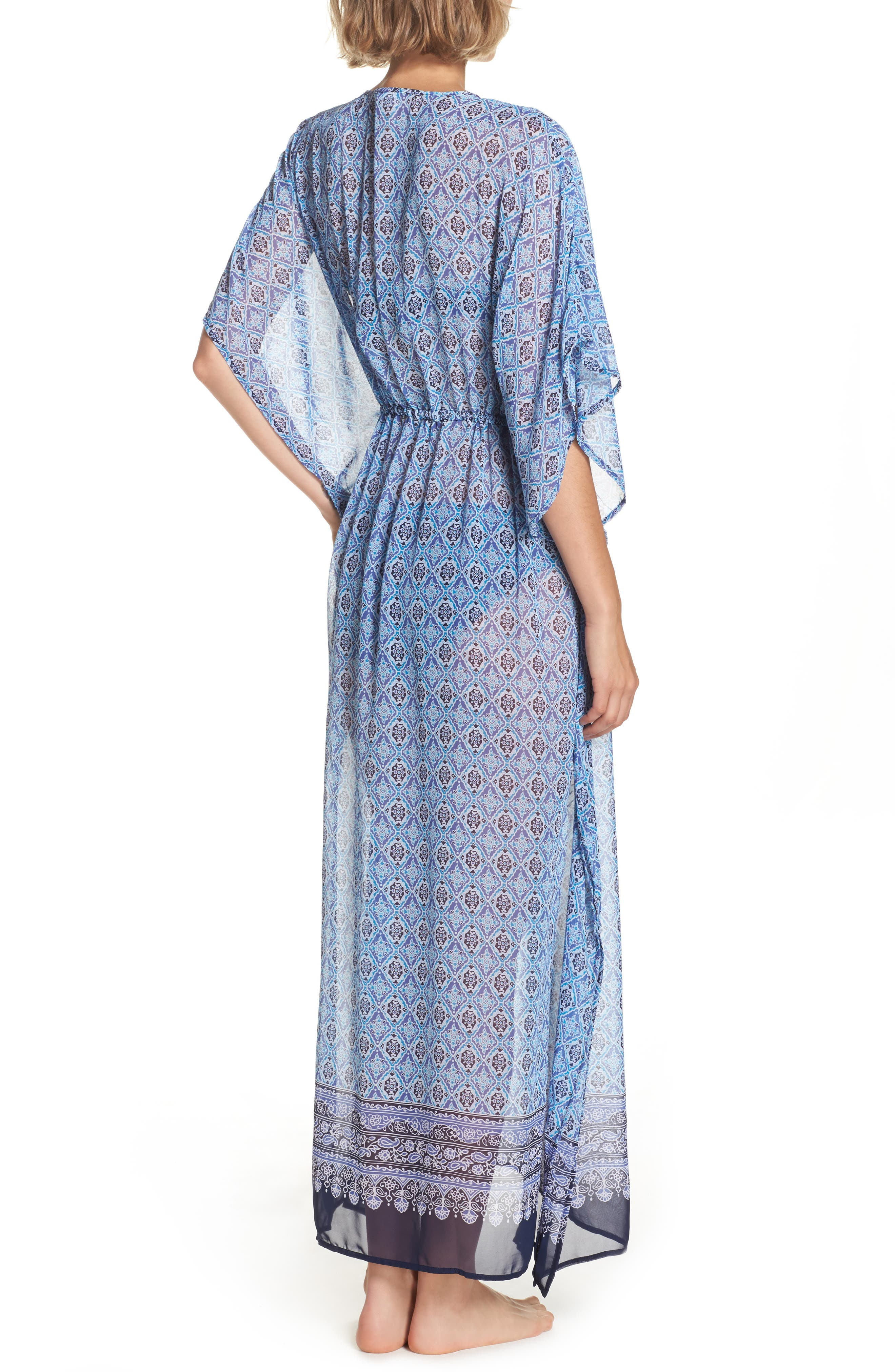 Alternate Image 2  - Tommy Bahama Tika Tiles Cover-Up Caftan