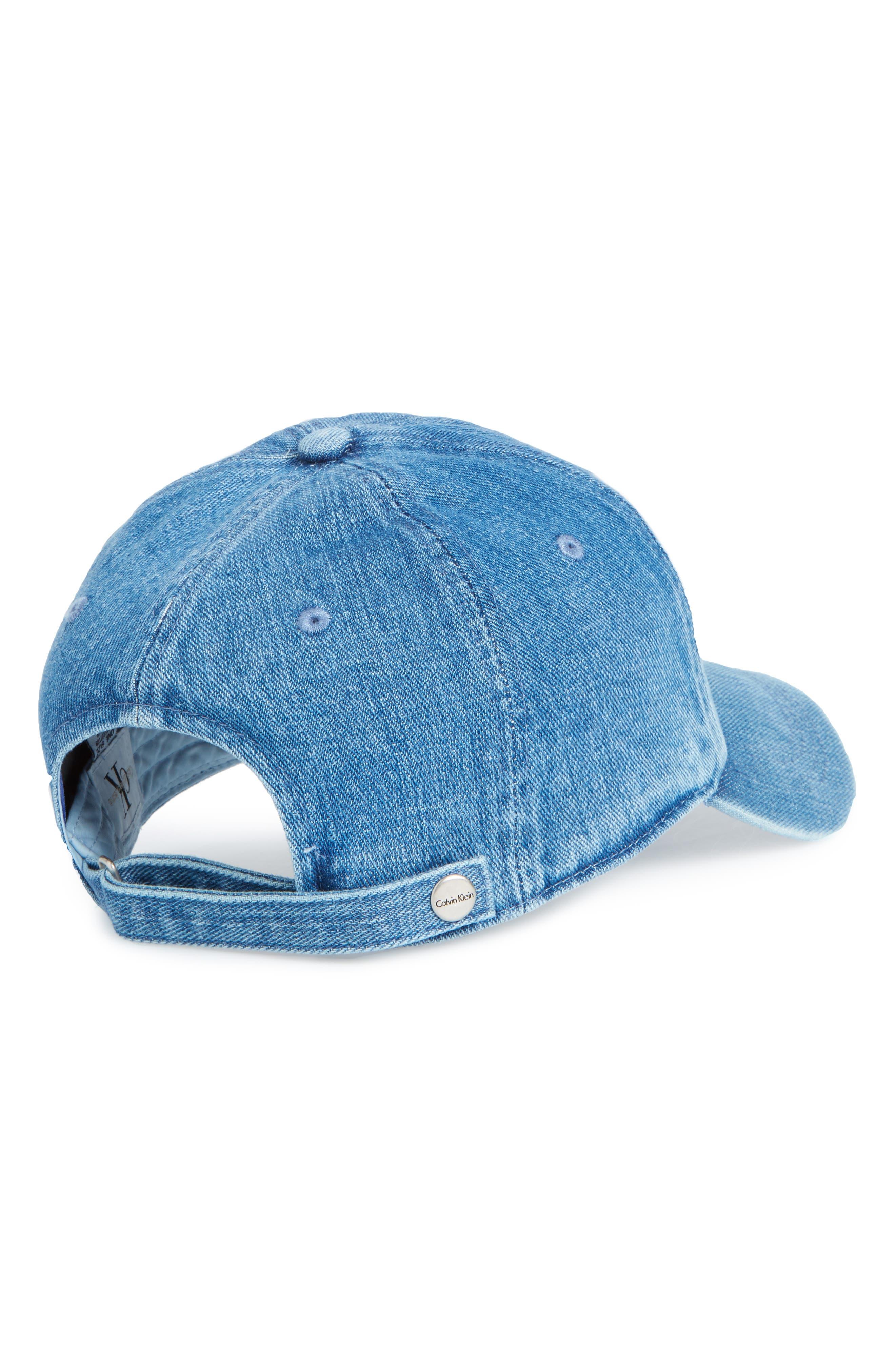 Calvin Klein CK Jeans Ball Cap,                             Alternate thumbnail 2, color,                             Stone Wash