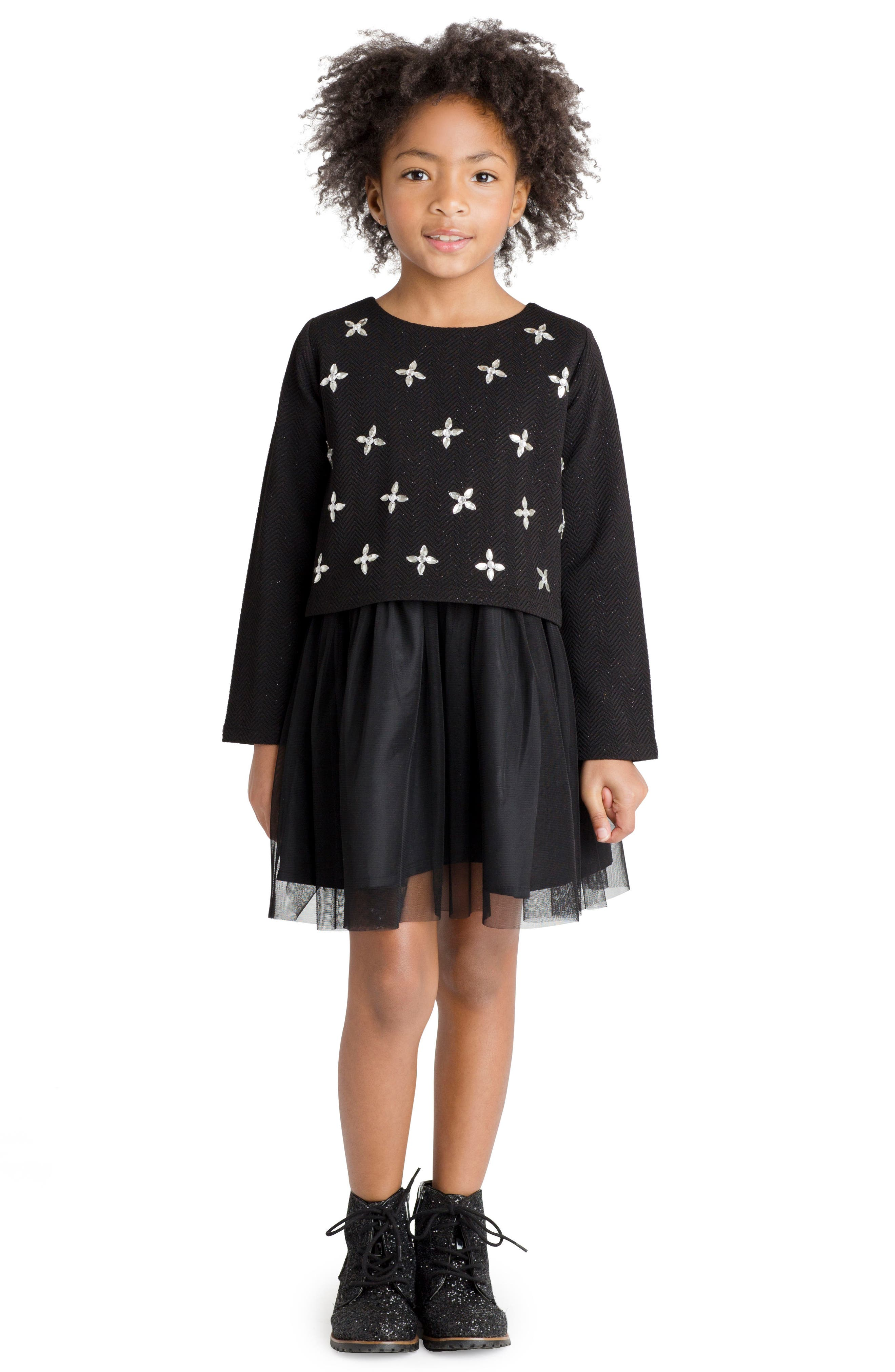 Alternate Image 2  - Masalababy Faye Dress (Toddler Girls, Little Girls & Big Girls)