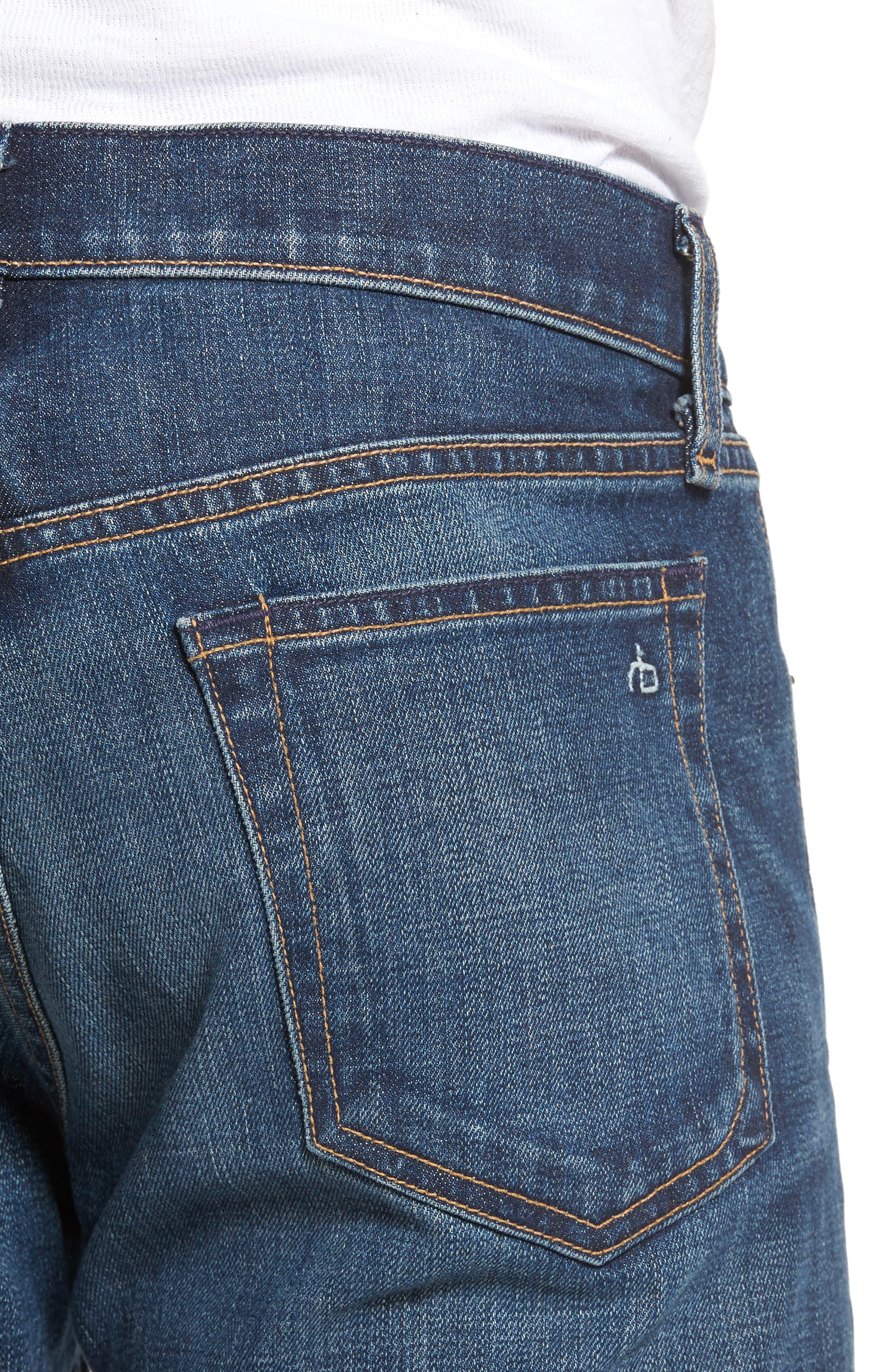 Fit 2 Slim Fit Jeans,                             Alternate thumbnail 4, color,                             Linden