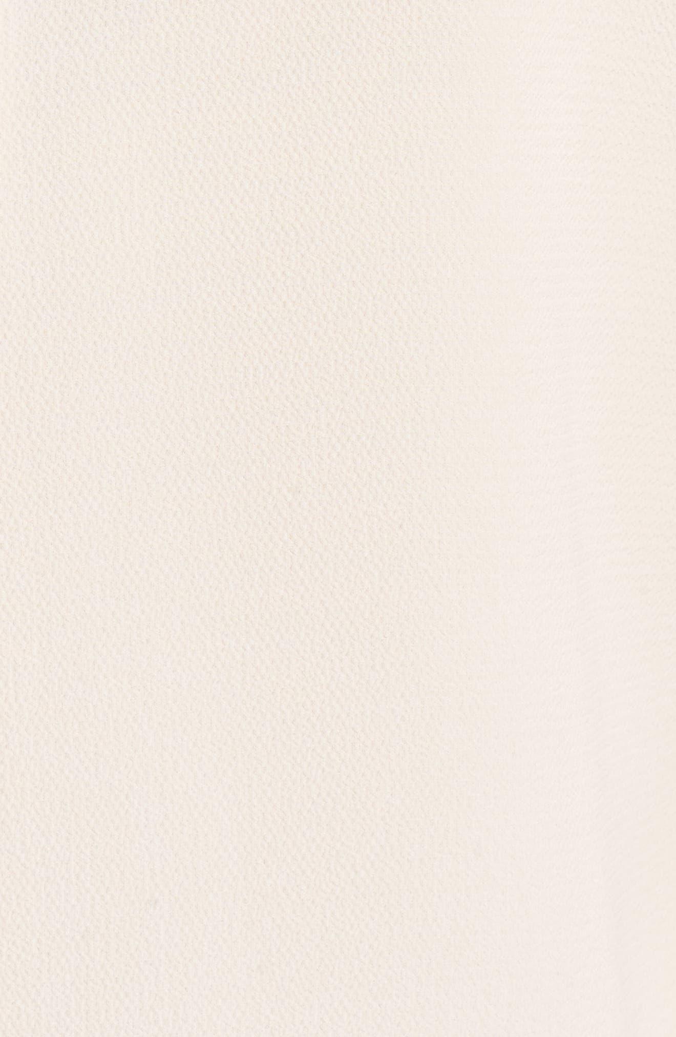 Maki Ruffle Shoulder Top,                             Alternate thumbnail 5, color,                             Nude