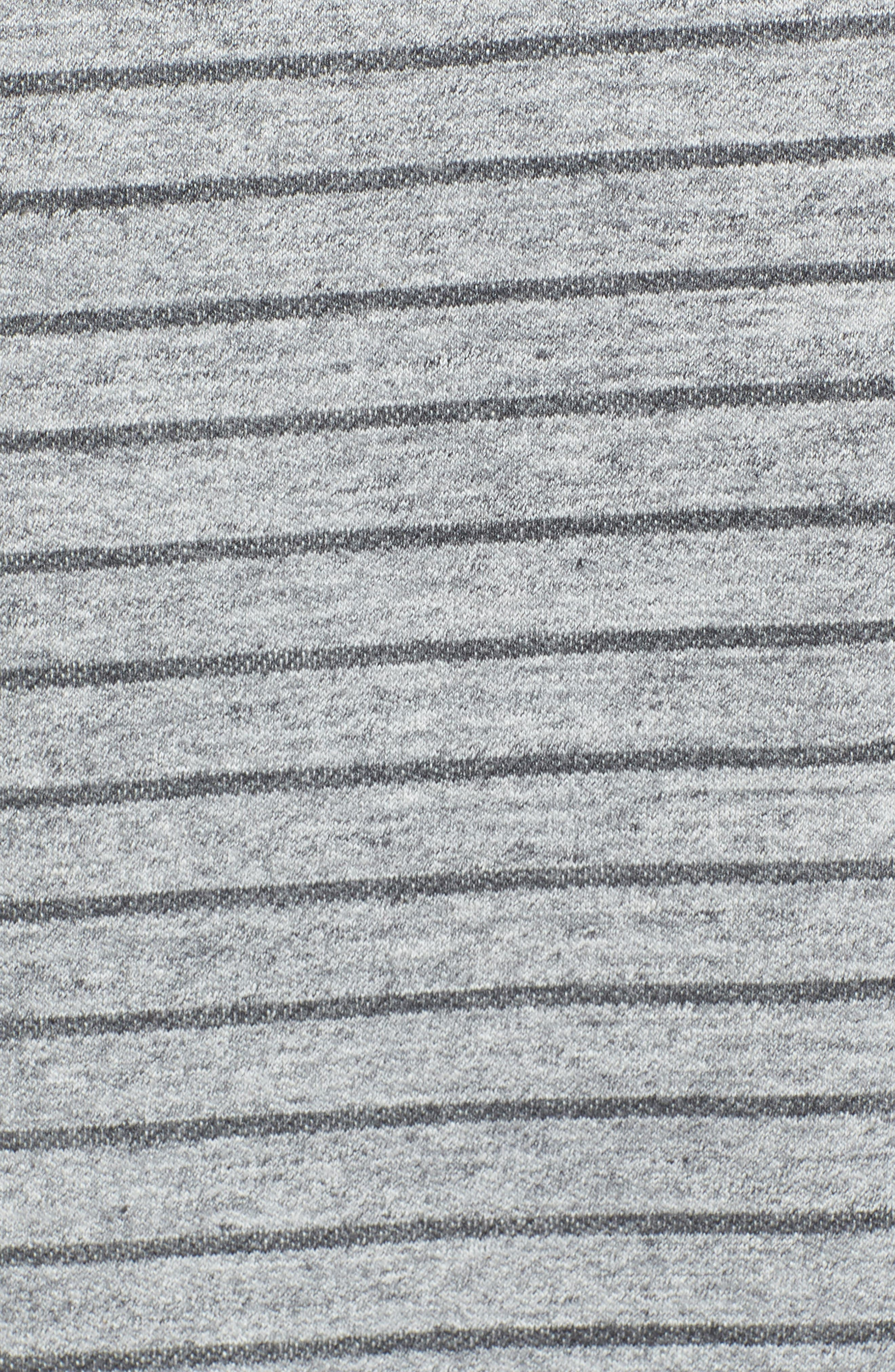 Palmer Modern Fit Athletic Stripe Sweatshirt,                             Alternate thumbnail 7, color,                             Gray Heather / Charcoal