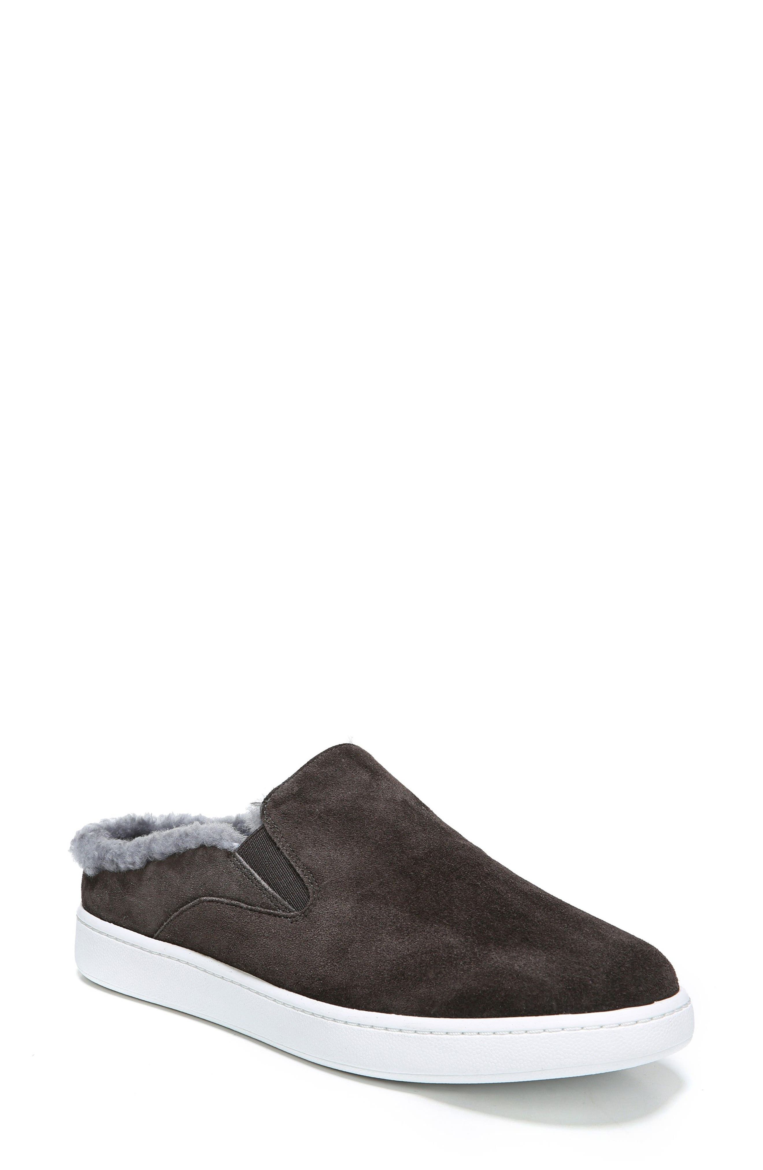 Alternate Image 1 Selected - Vince Verrell Genuine Shearling Slip-On Sneaker (Women)