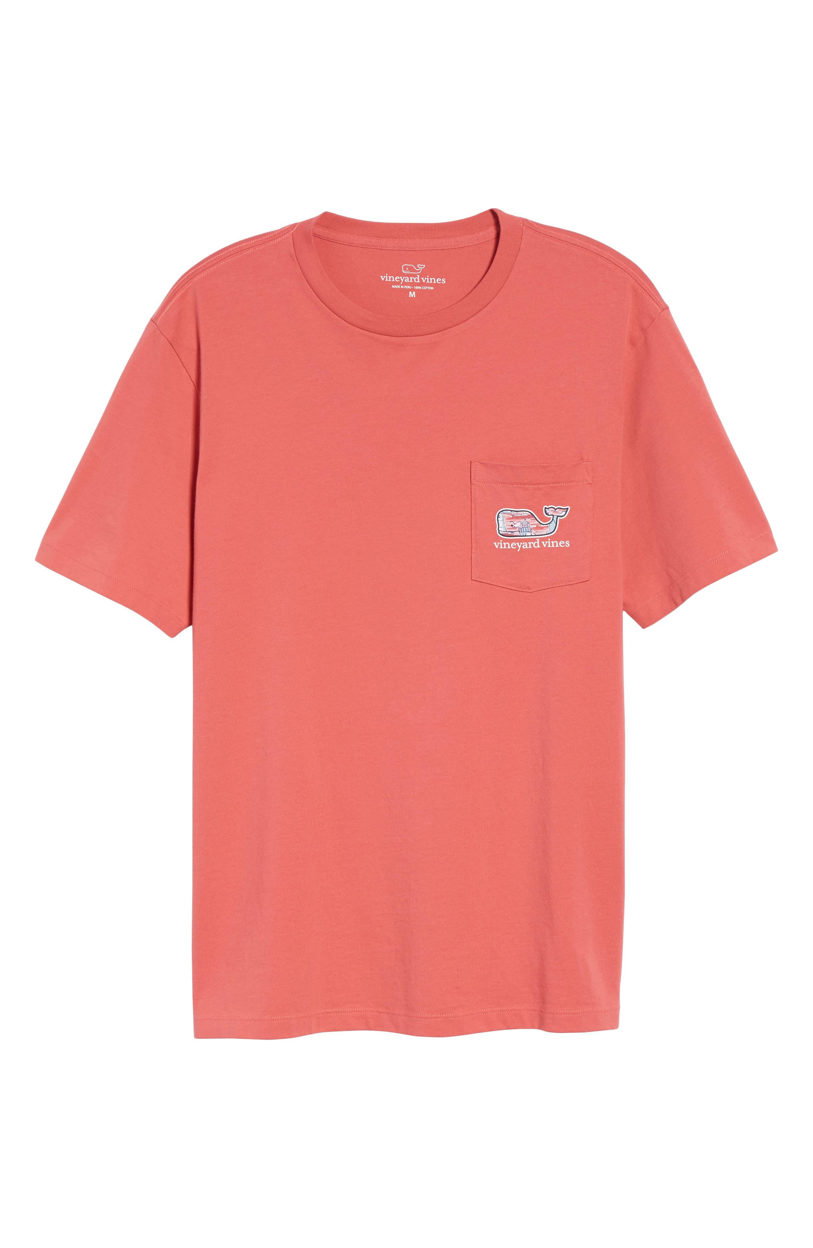Alternate Image 6  - vineyard vines Lighthouse Whale Pocket T-Shirt