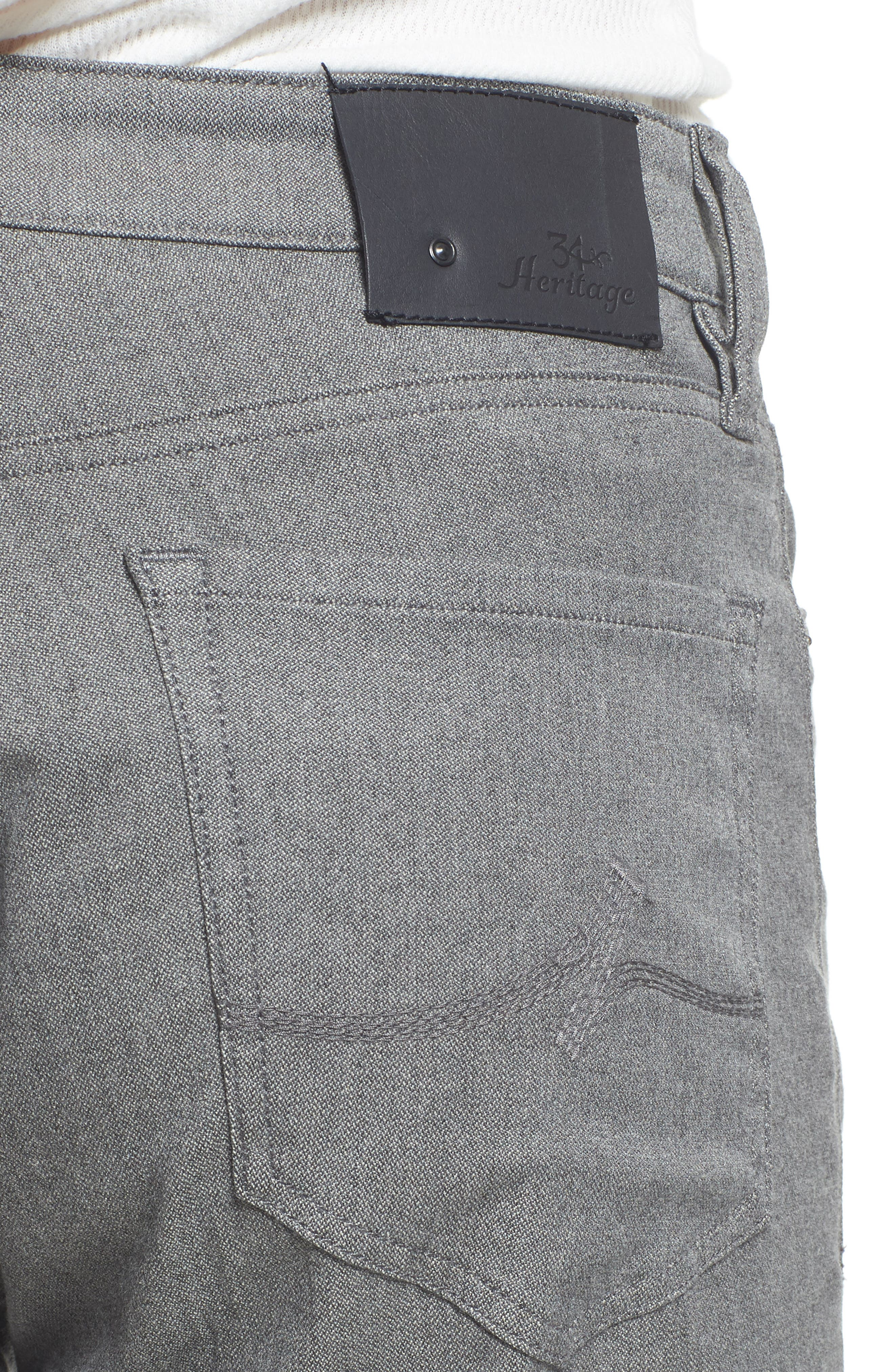 Charisma Relaxed Fit Jeans,                             Alternate thumbnail 4, color,                             Grey Winter Twill
