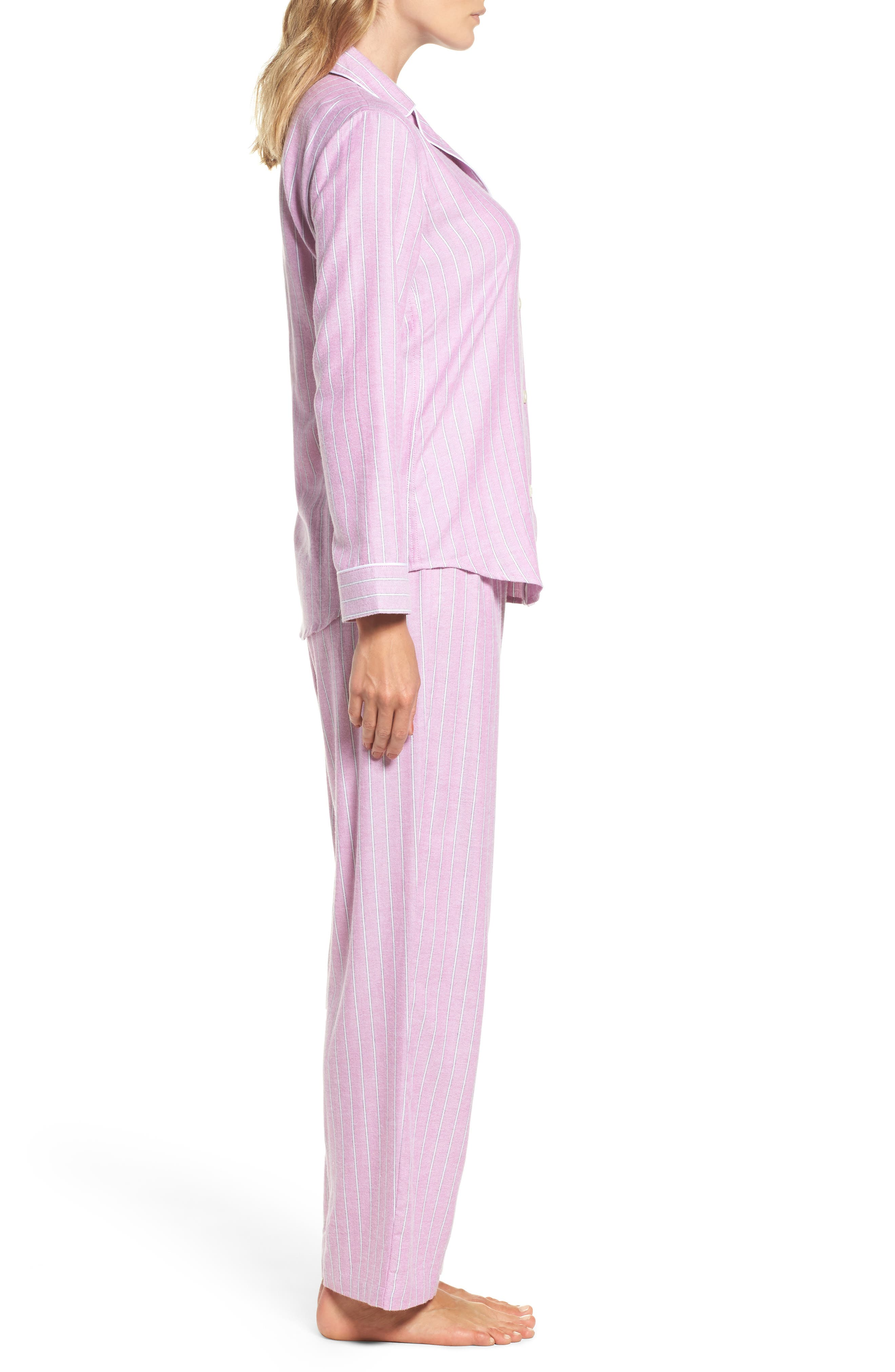 Alternate Image 3  - Lauren Ralph Lauren Long Pajamas