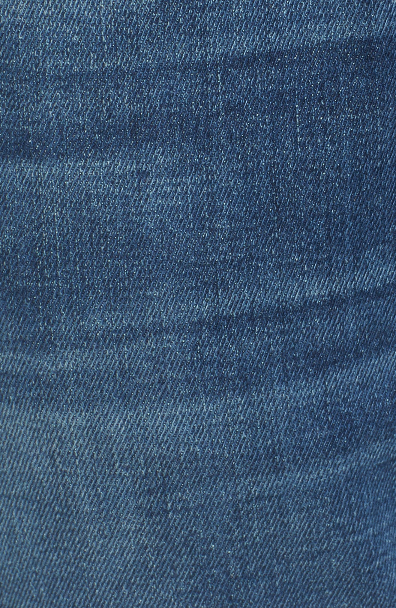 The Straight Slim Straight Leg Jeans,                             Alternate thumbnail 5, color,                             Scout