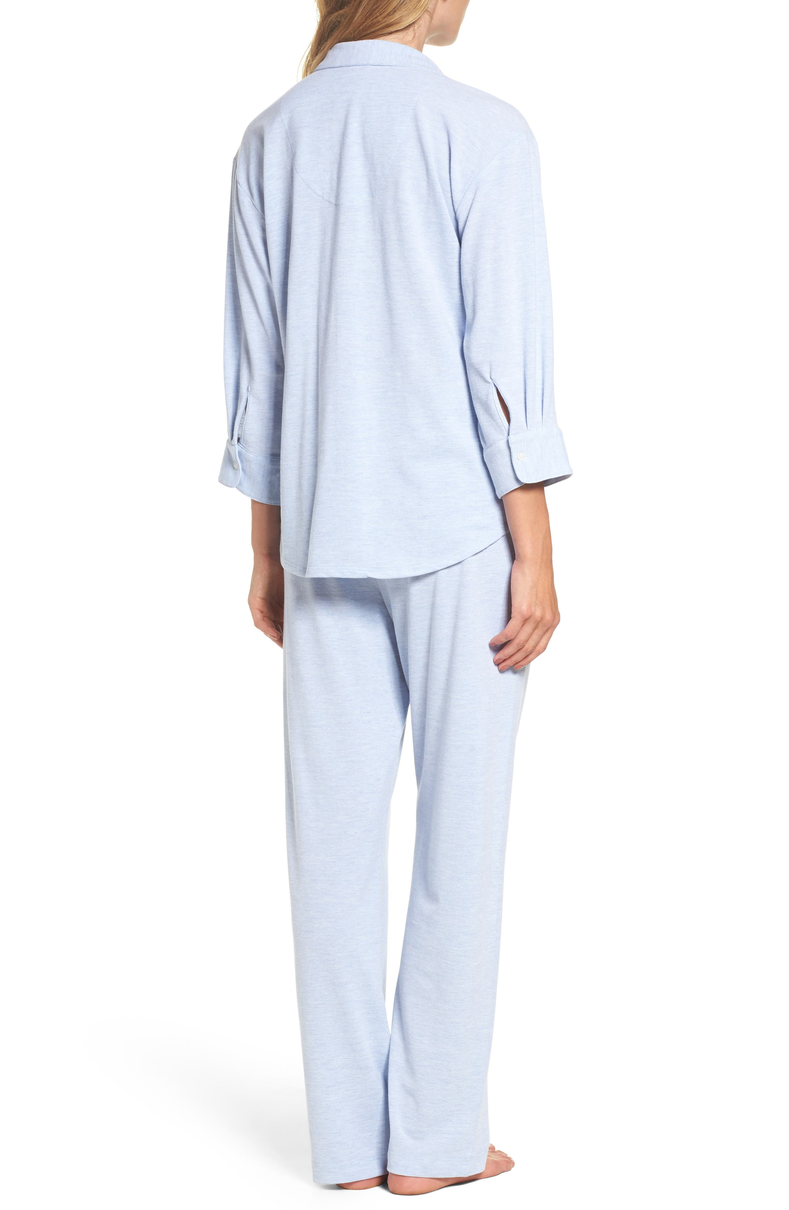 Alternate Image 2  - Lauren Ralph Lauren Long Pajamas