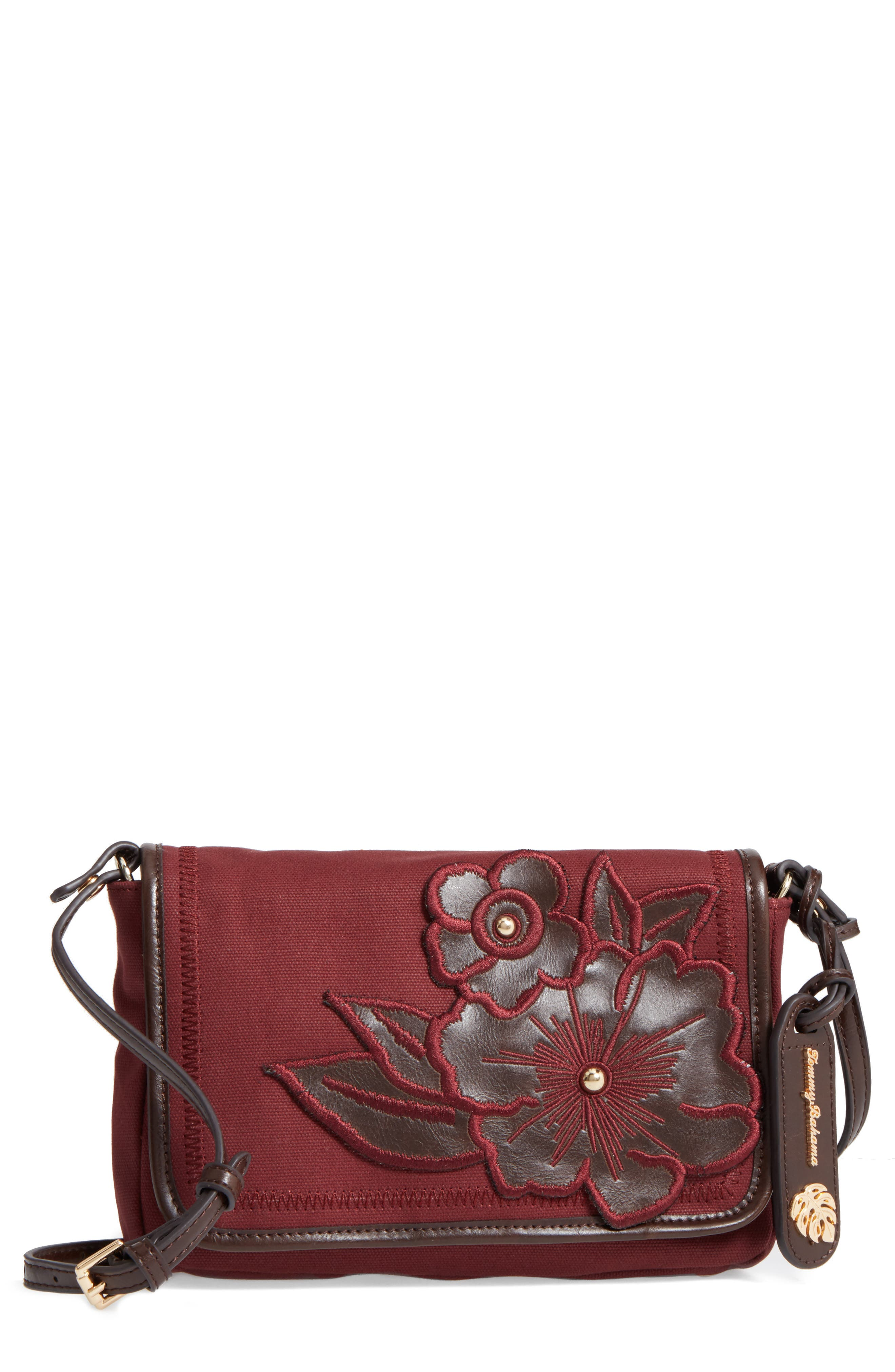 Alternate Image 1 Selected - Tommy Bahama Casbah Convertible Canvas Crossbody Bag