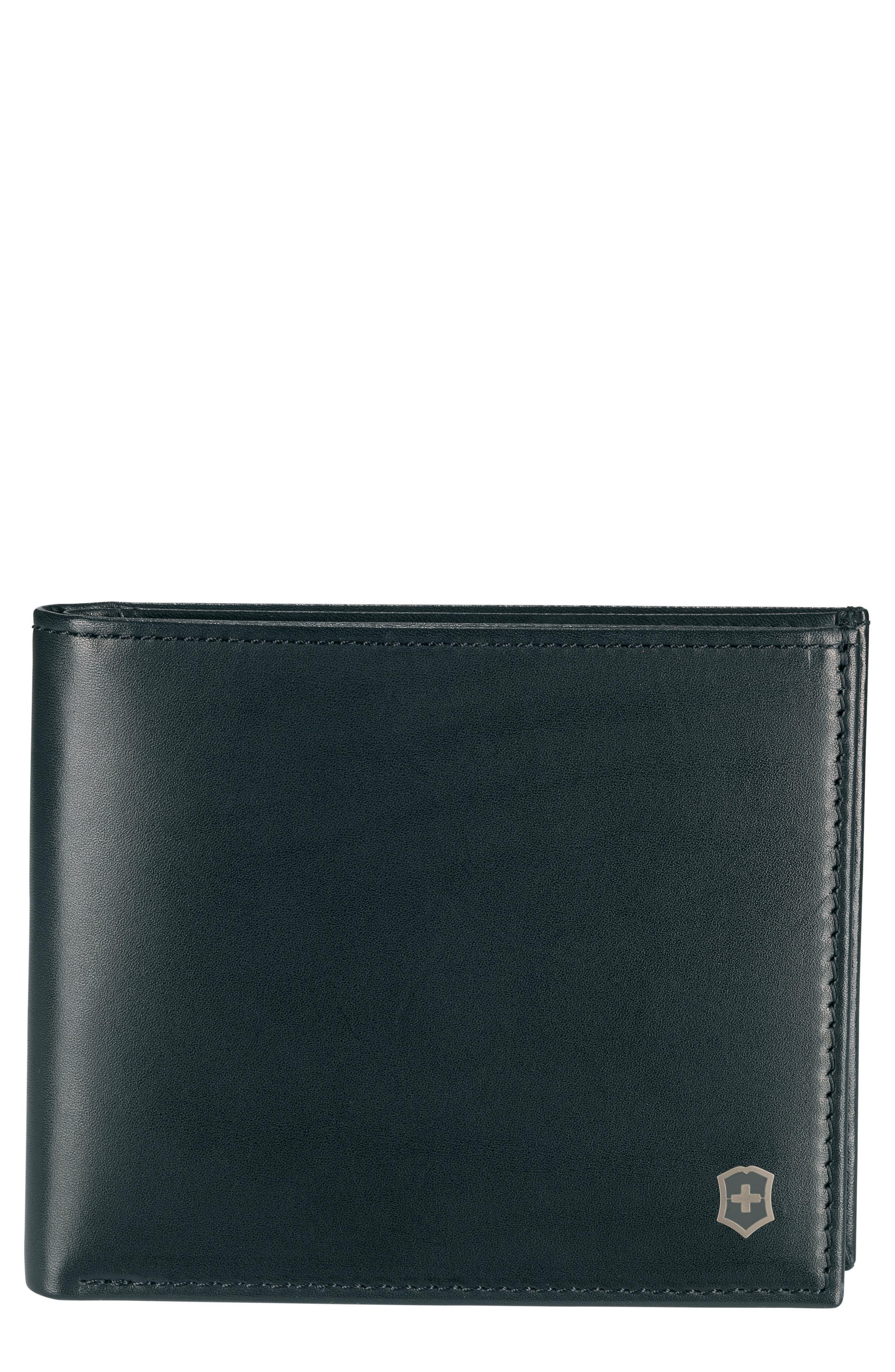 Altius Edge Fermat Wallet,                         Main,                         color, Black