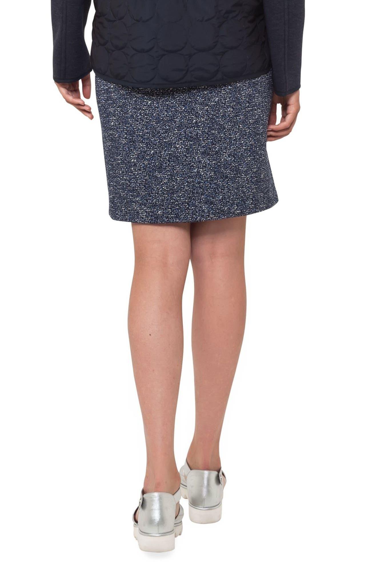 Alternate Image 2  - Akris punto Jacquard Miniskirt