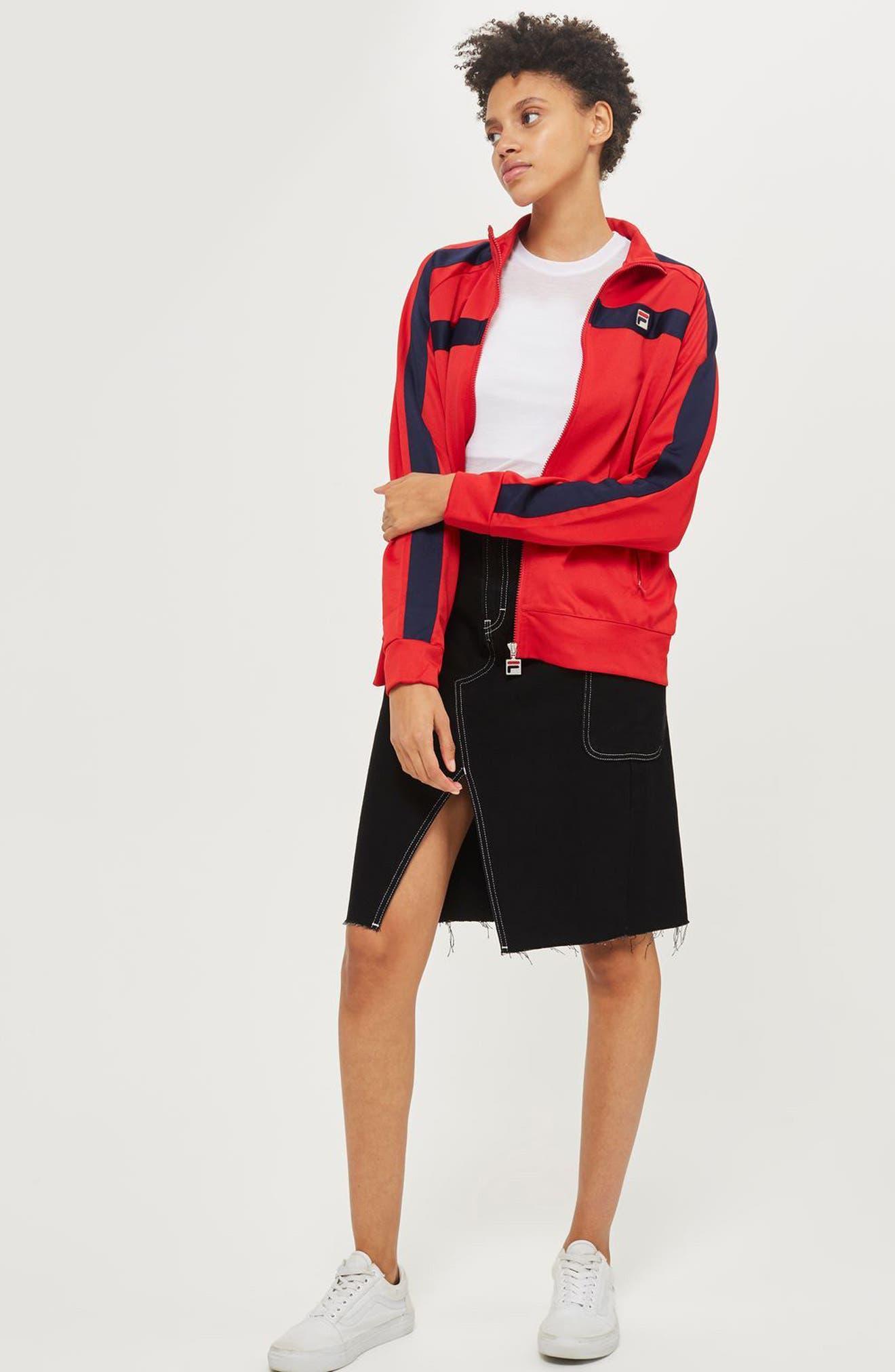 Alternate Image 2  - Topshop Sheer T-Shirt Bodysuit