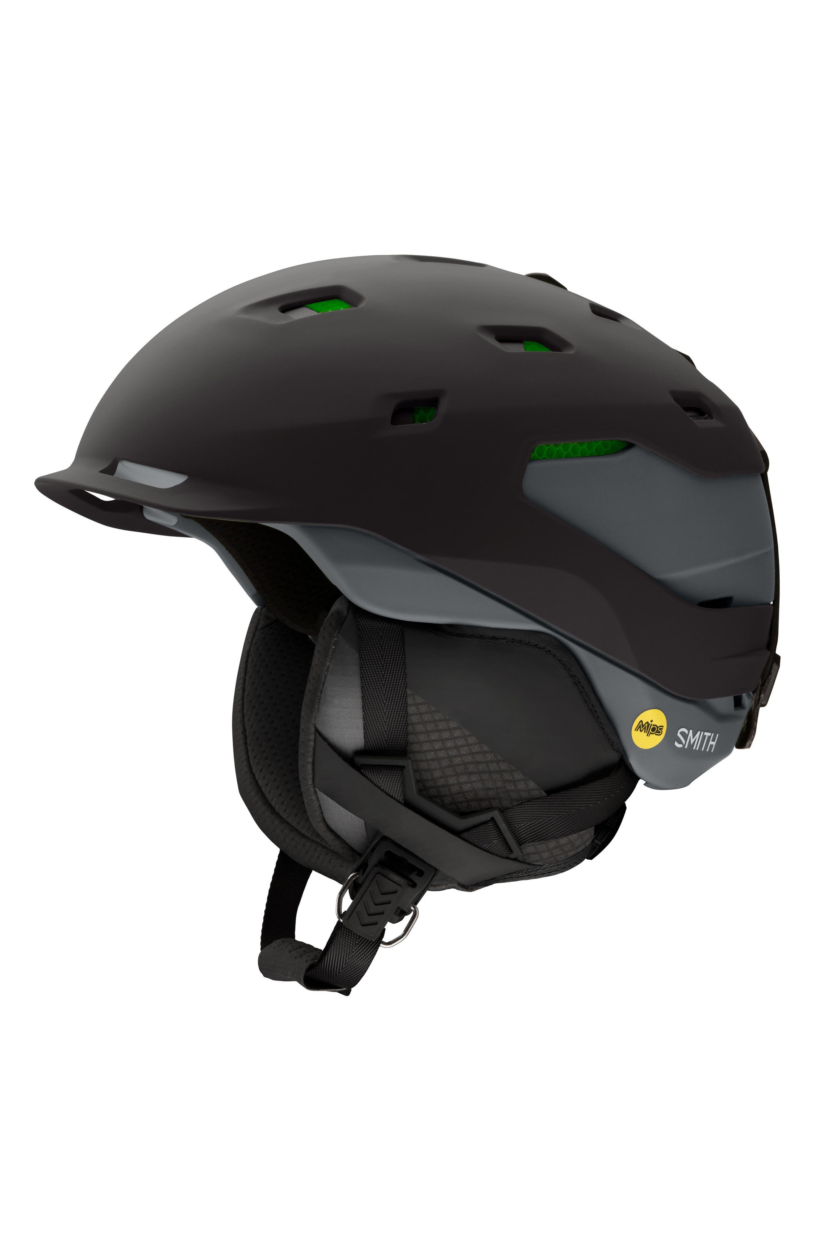 Smith Quantum with MIPS Snow Helmet
