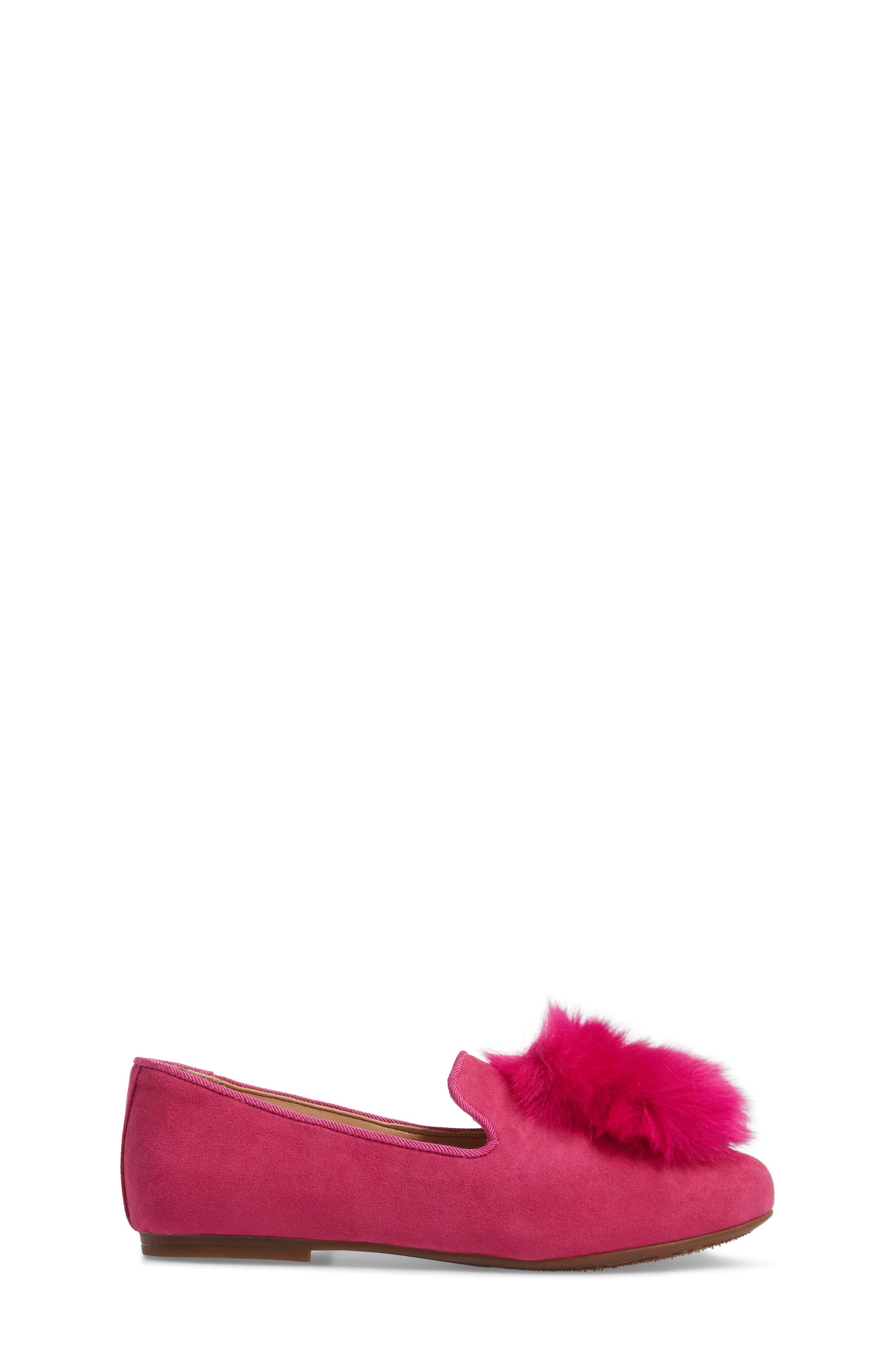 Alternate Image 3  - Vince Camuto Caela Faux Fur Loafer (Toddler, Little Kid & Big Kid)