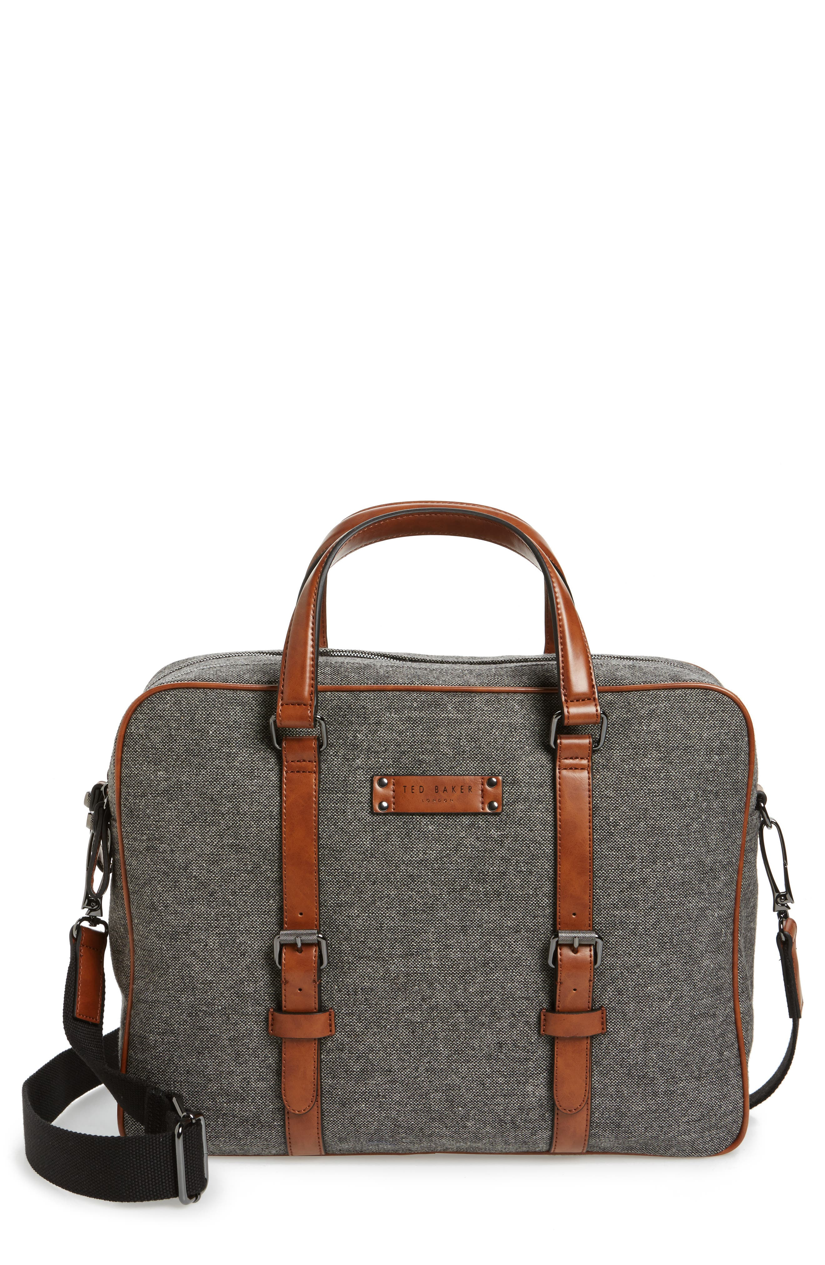 Ted Baker London Digger Wool Briefcase
