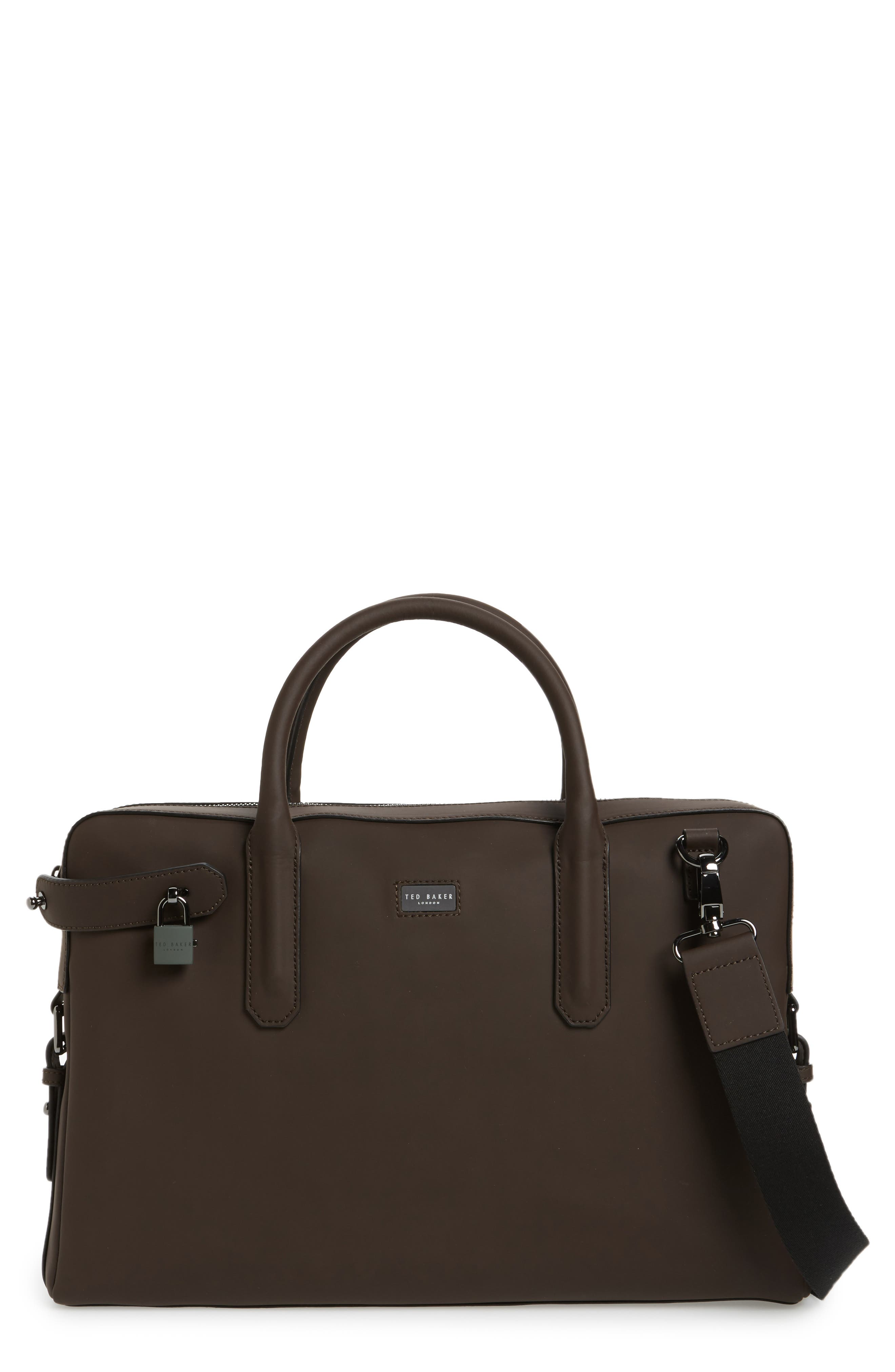Ted Baker London Ozboz Leather Briefcase
