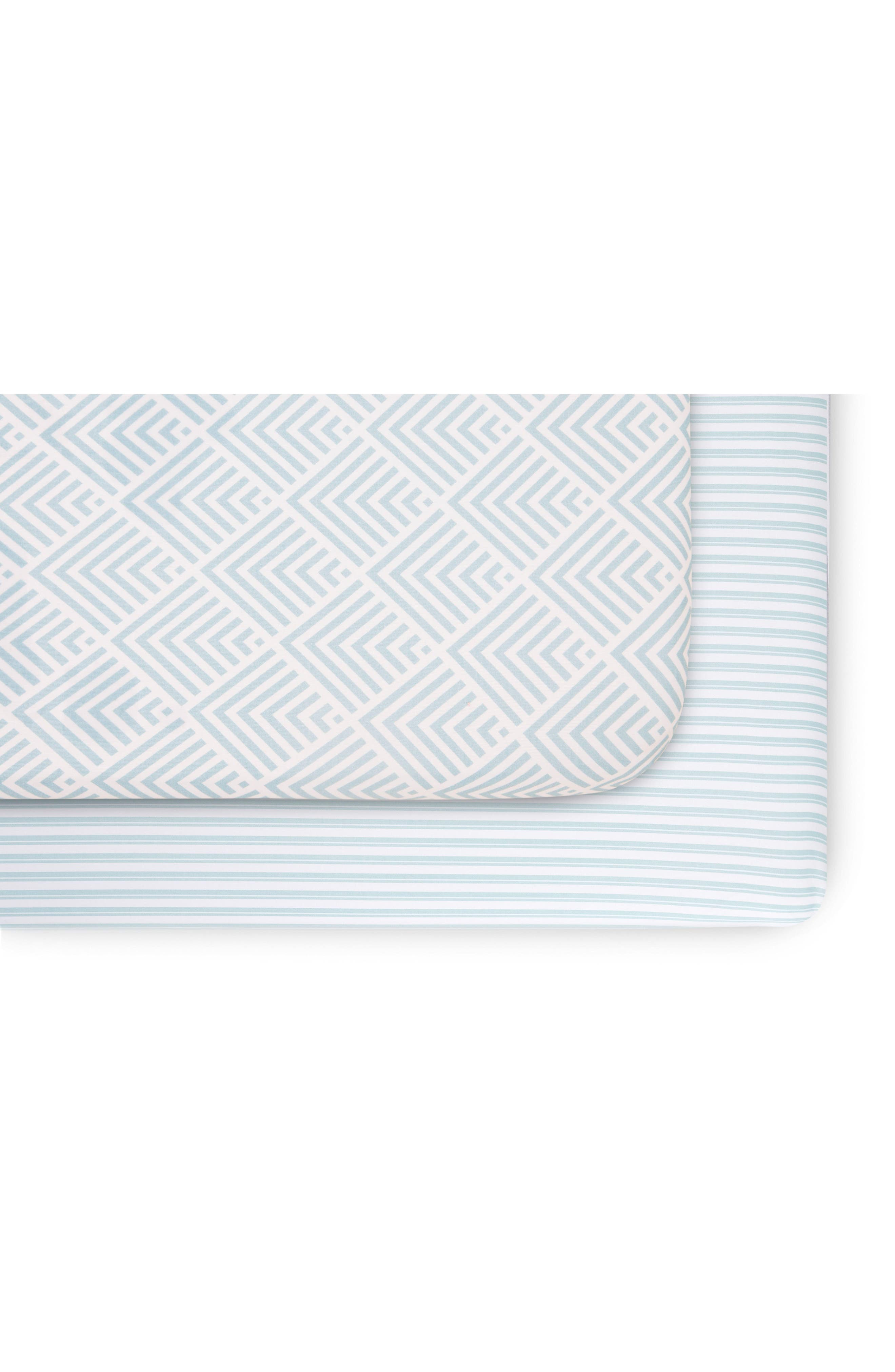 Oilo 2-Pack Fitted Crib Sheets
