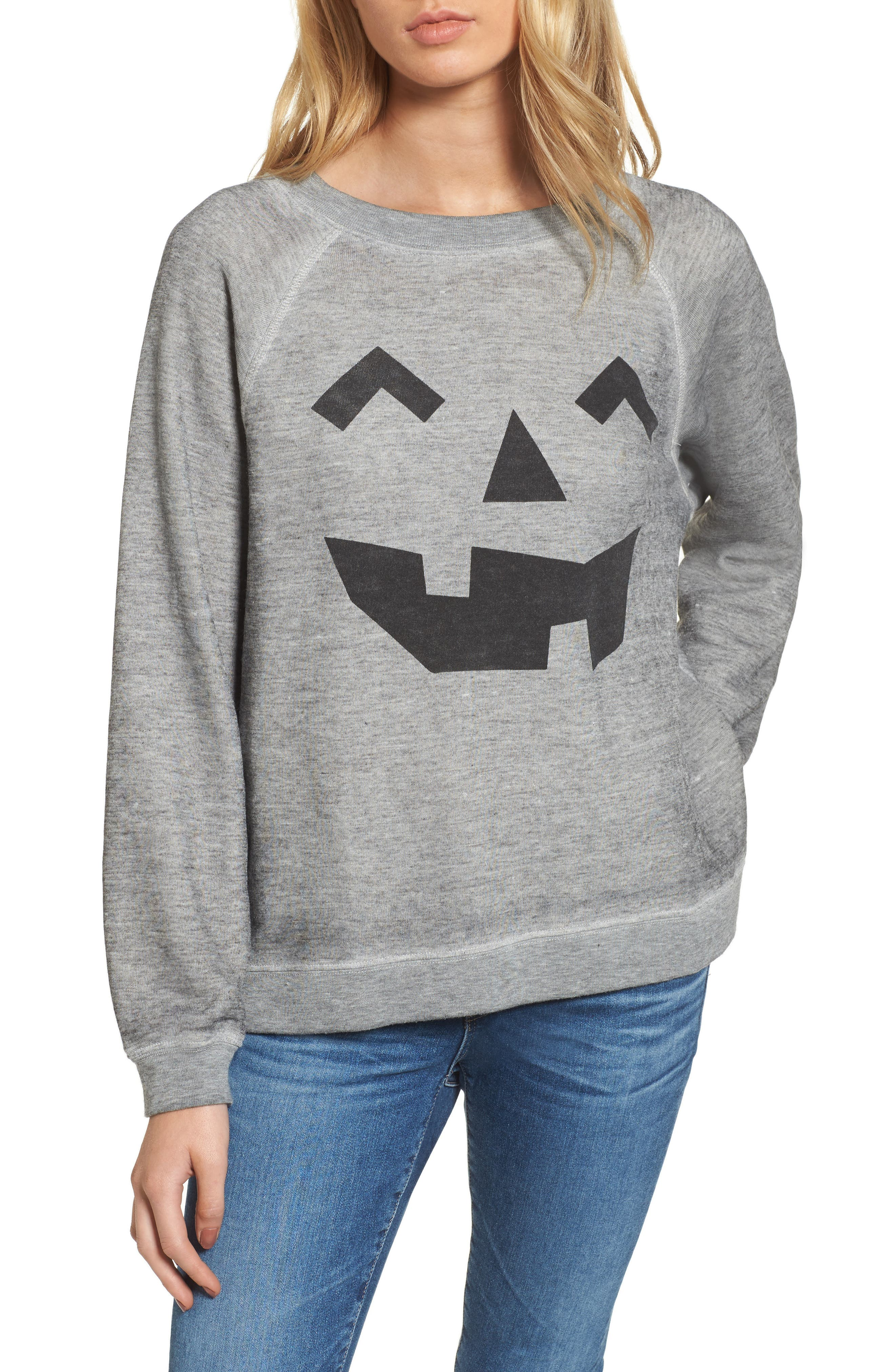 Alternate Image 1 Selected - Wildfox I'm a Pumpkin Sommers Sweatshirt