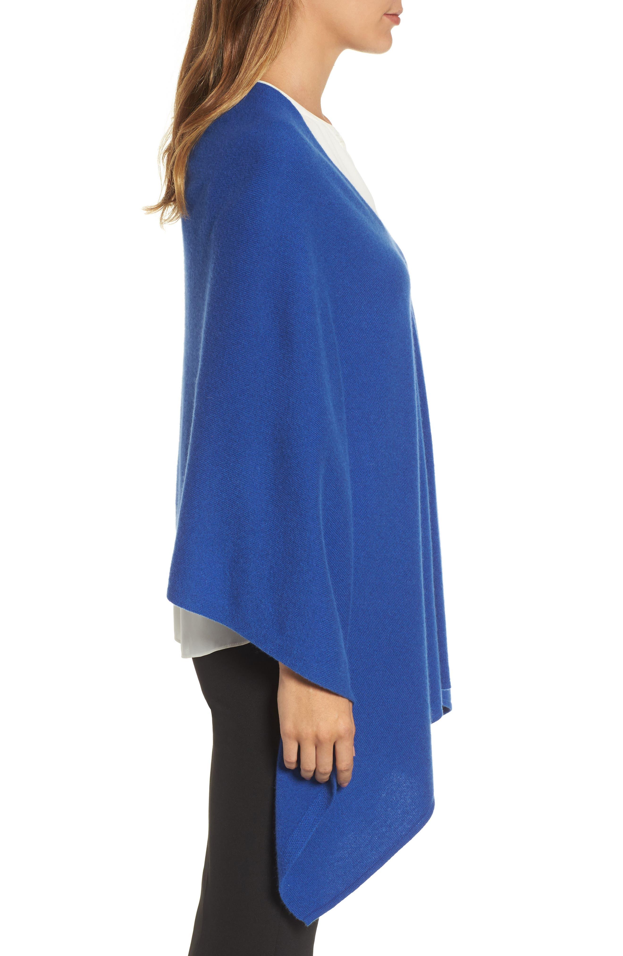 Alternate Image 3  - Halogen® Convertible Cashmere Poncho
