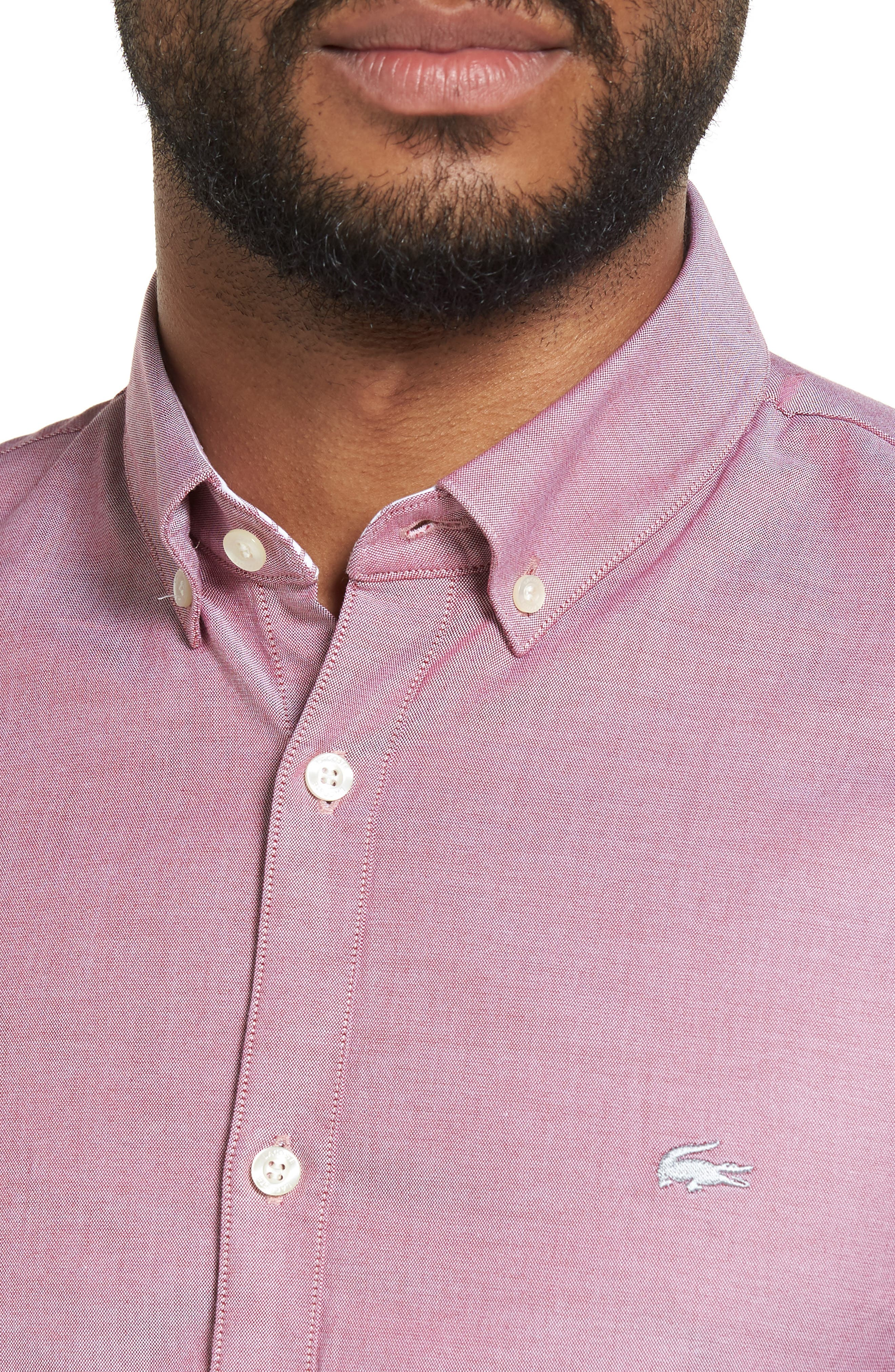 Alternate Image 4  - Lacoste Button-Down Sport Shirt