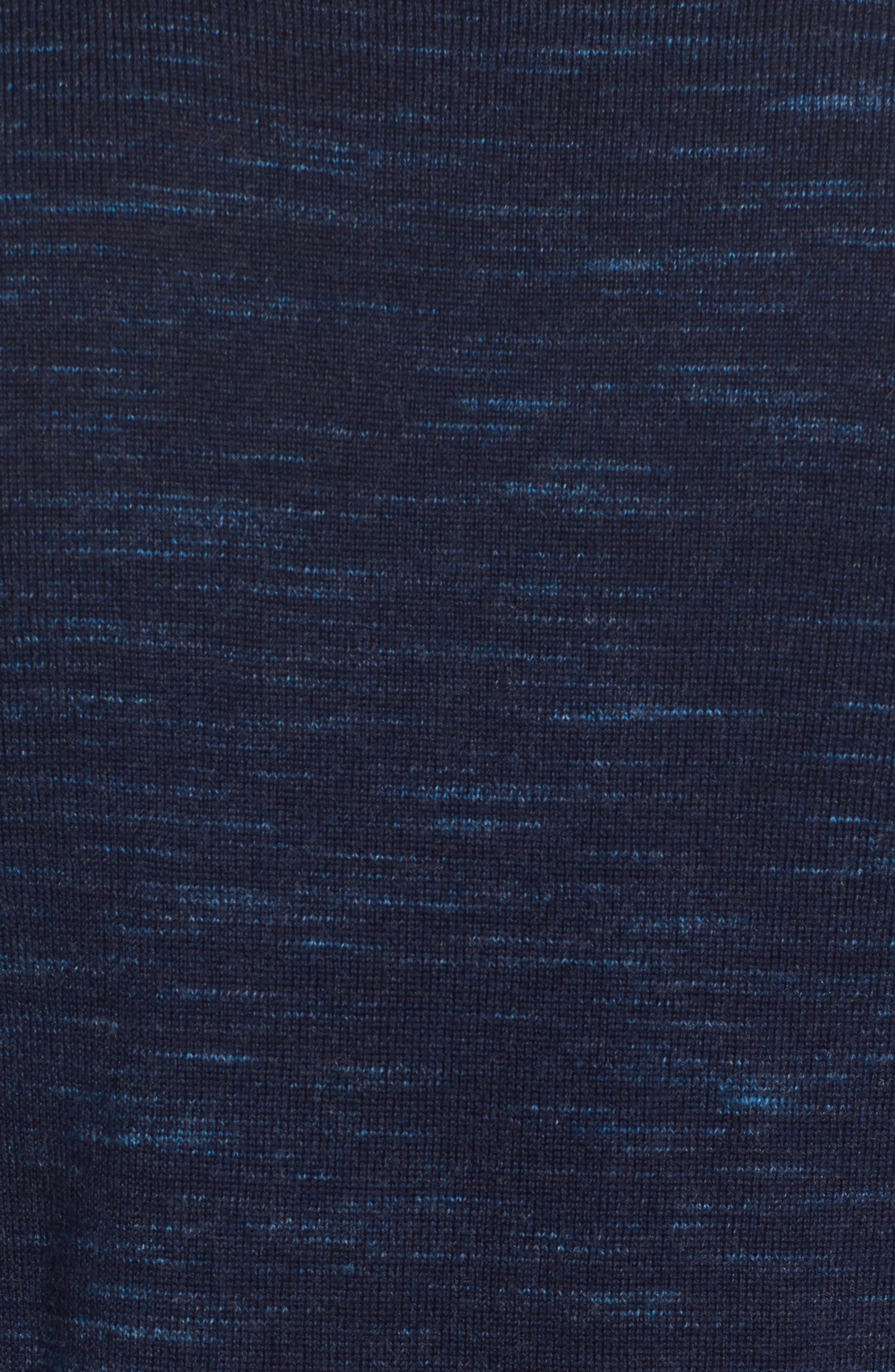 Merino Wool T-Shirt,                             Alternate thumbnail 5, color,                             Stridden Blazer