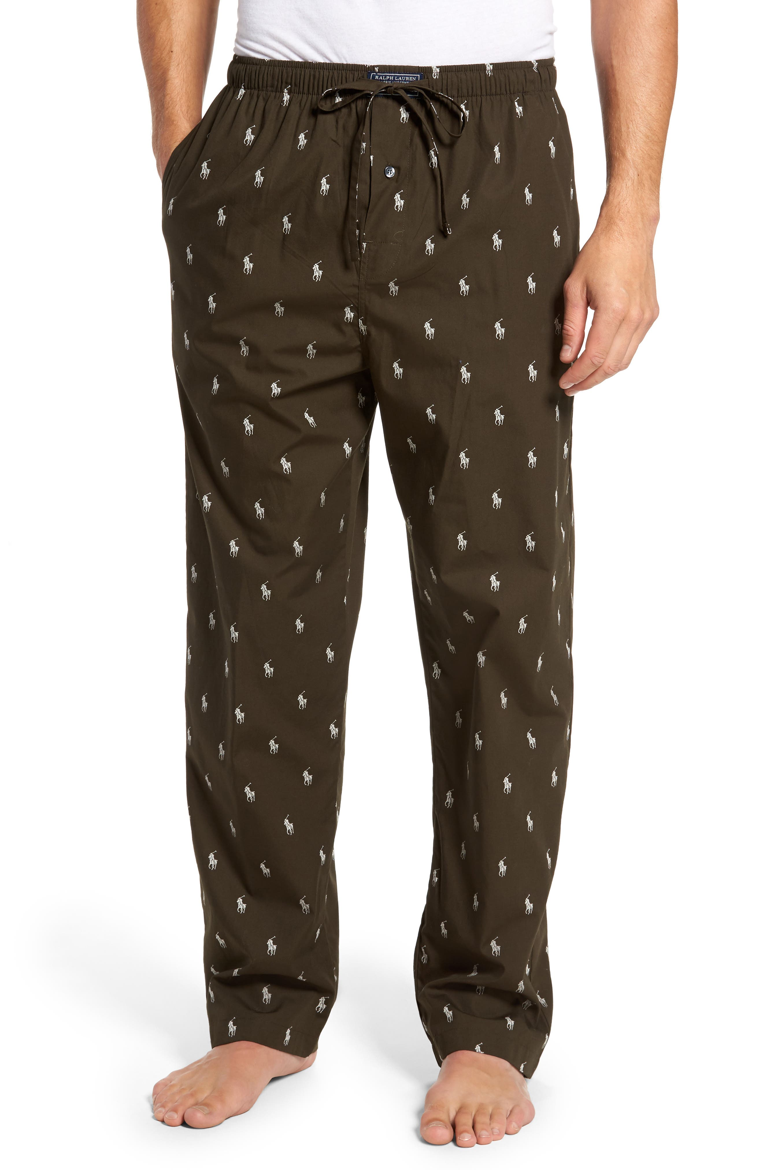 Alternate Image 1 Selected - Polo Ralph Lauren Classic Lounge Pants