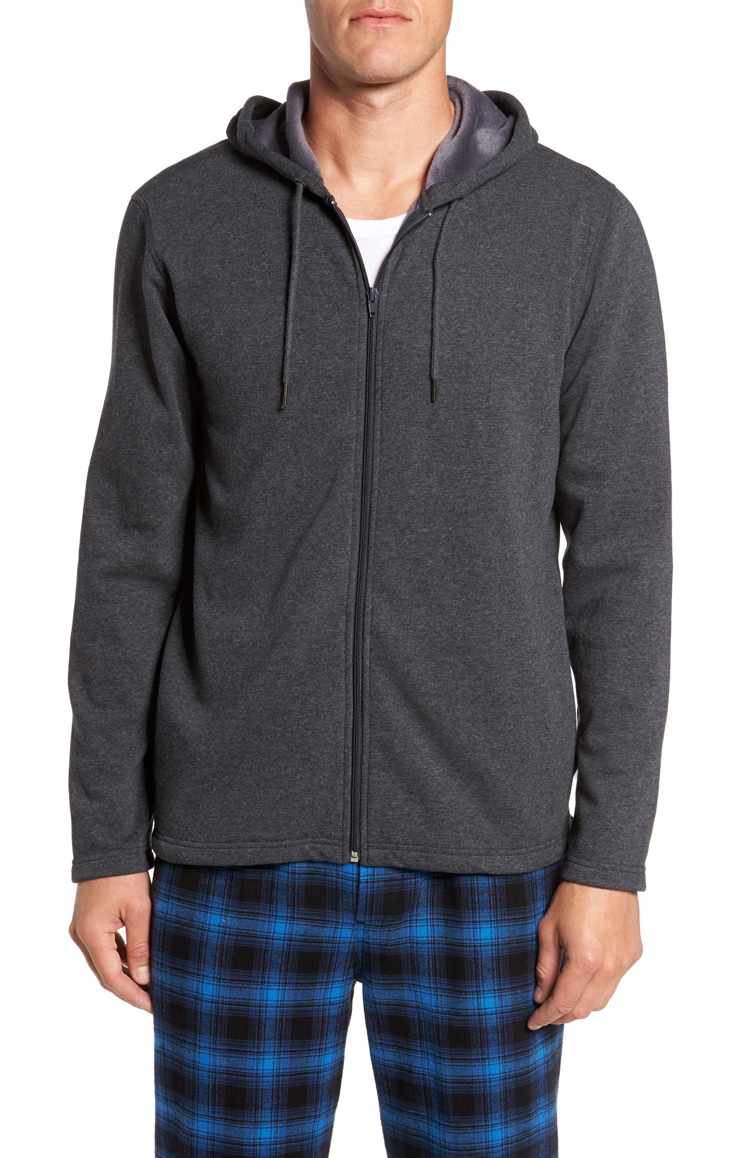 Nordstrom Men's Shop Fleece Zip Hoodie