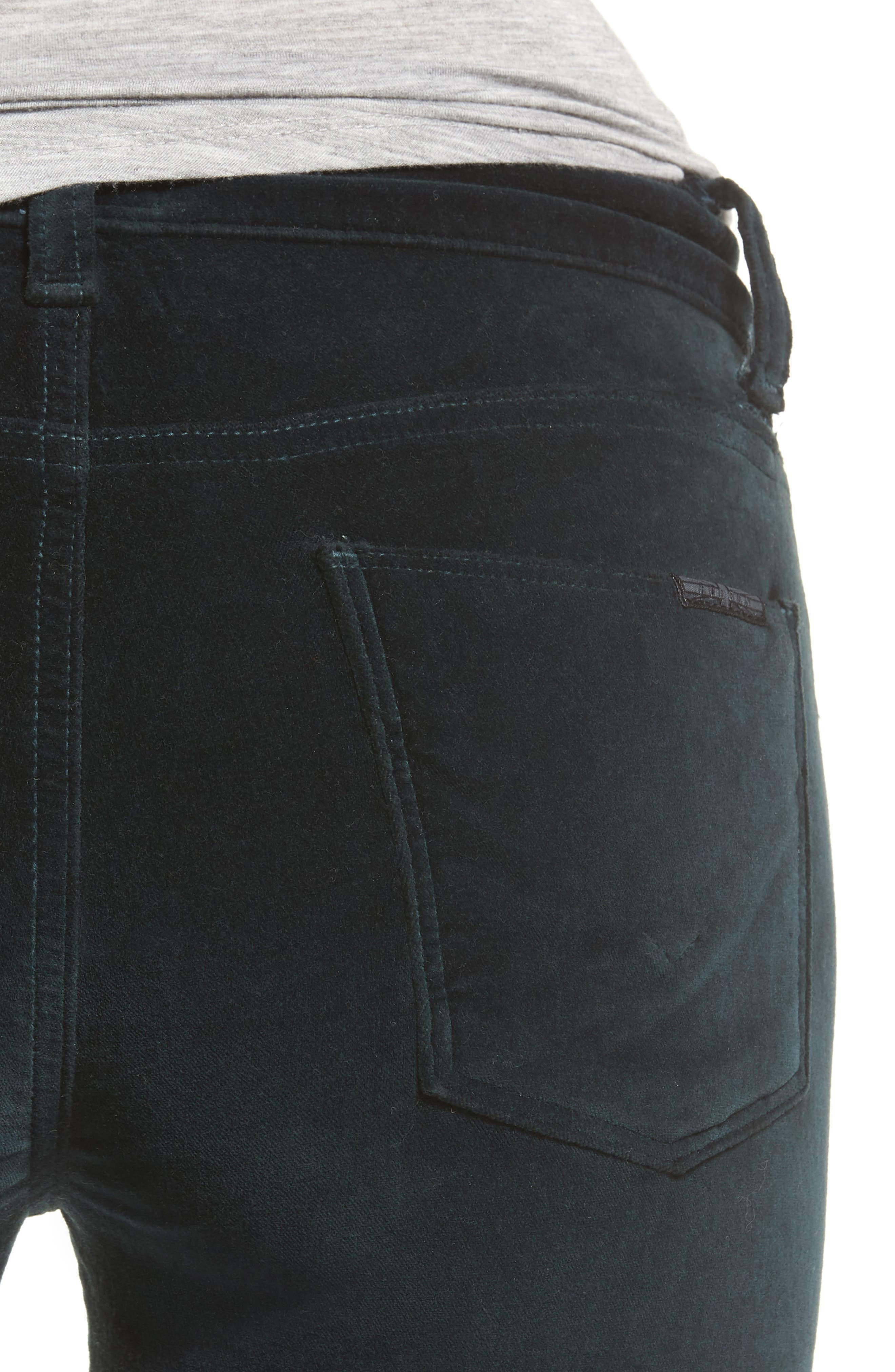 Alternate Image 4  - Hudson Jeans Barbara High Waist Ankle Super Skinny Jeans