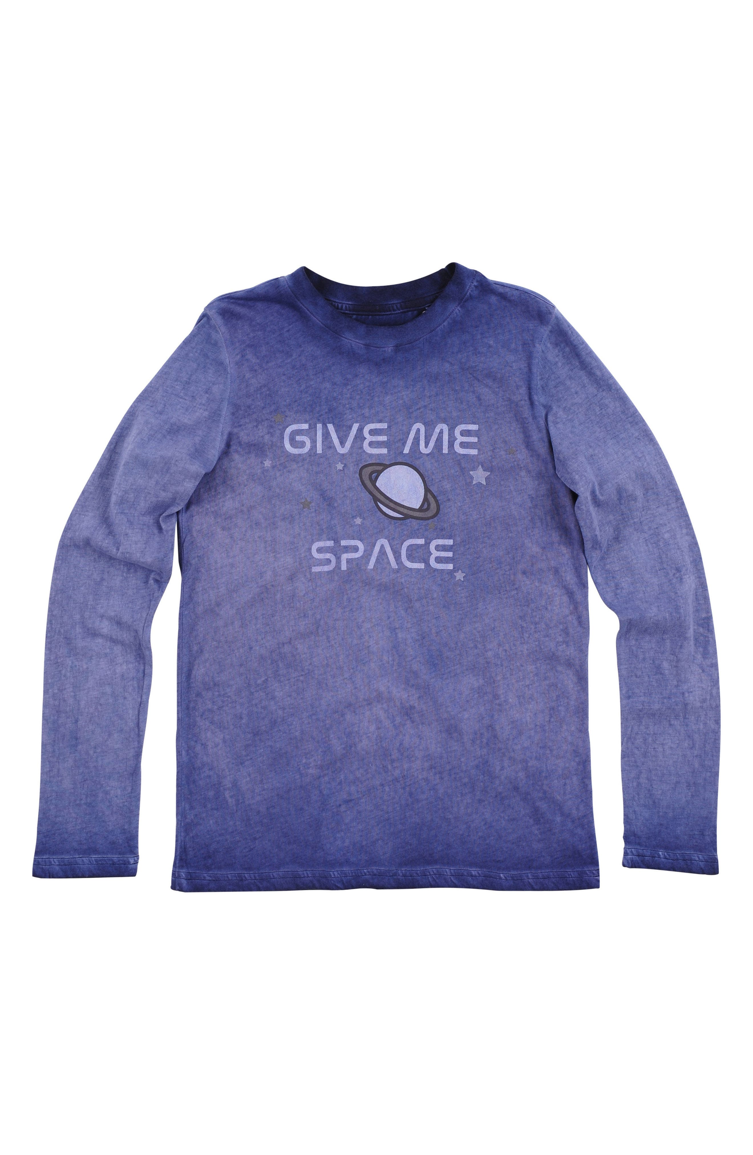 Give Me Space Long Sleeve T-Shirt,                         Main,                         color, Maritime Blue