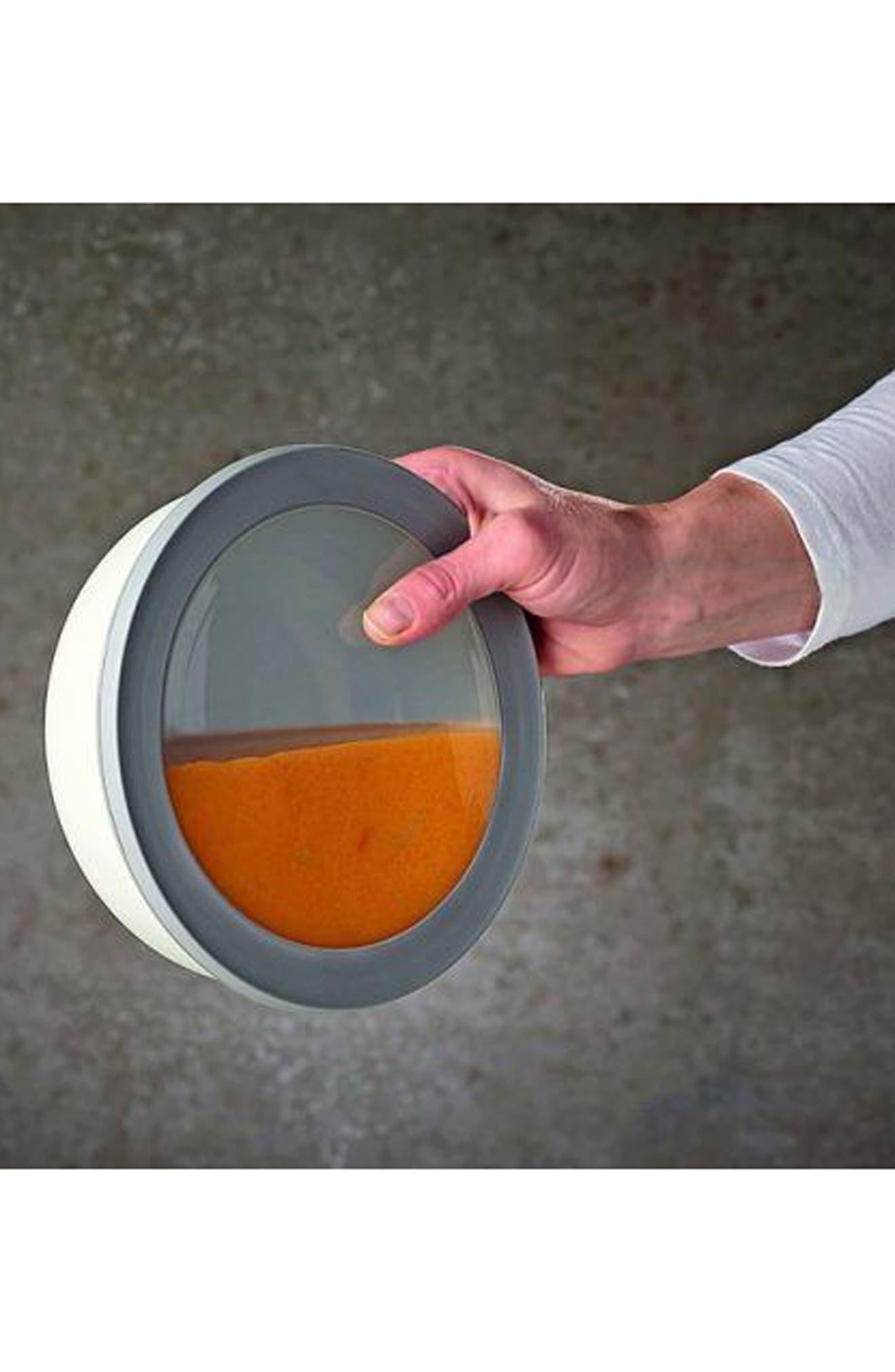 Cirqula Set of 4 Storage Bowls,                             Alternate thumbnail 9, color,