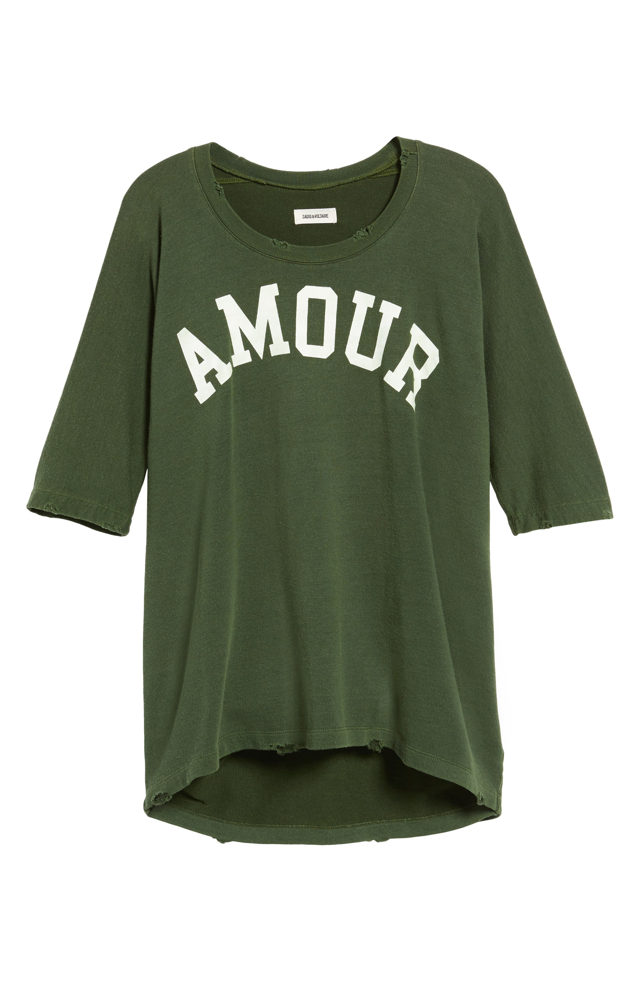 Alternate Image 6  - Zadig & Voltaire Amour Overdye Tee