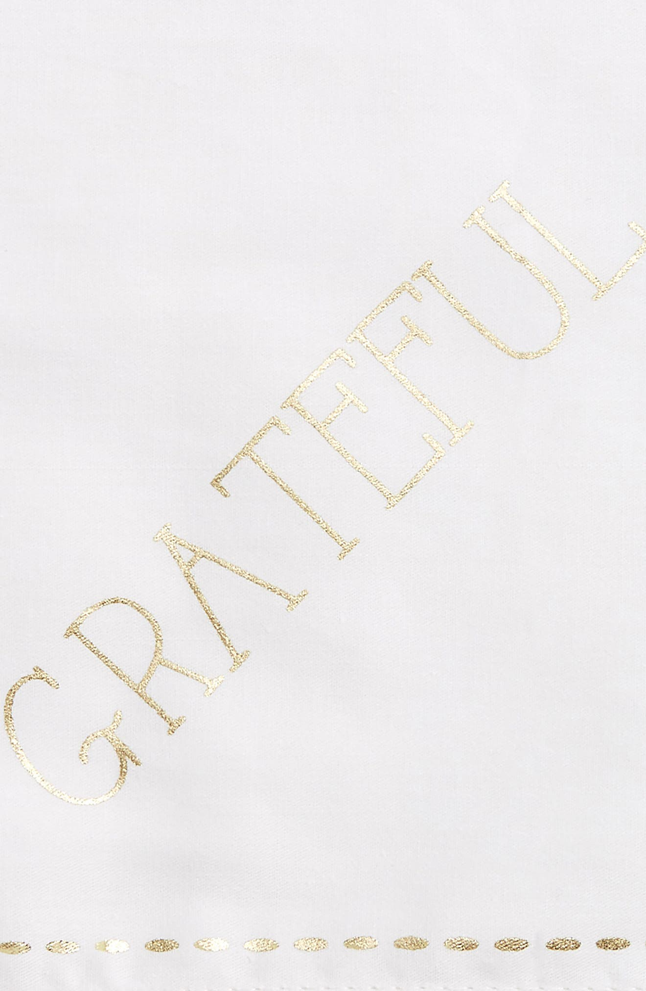 Grateful Napkin,                             Alternate thumbnail 2, color,                             Ivory