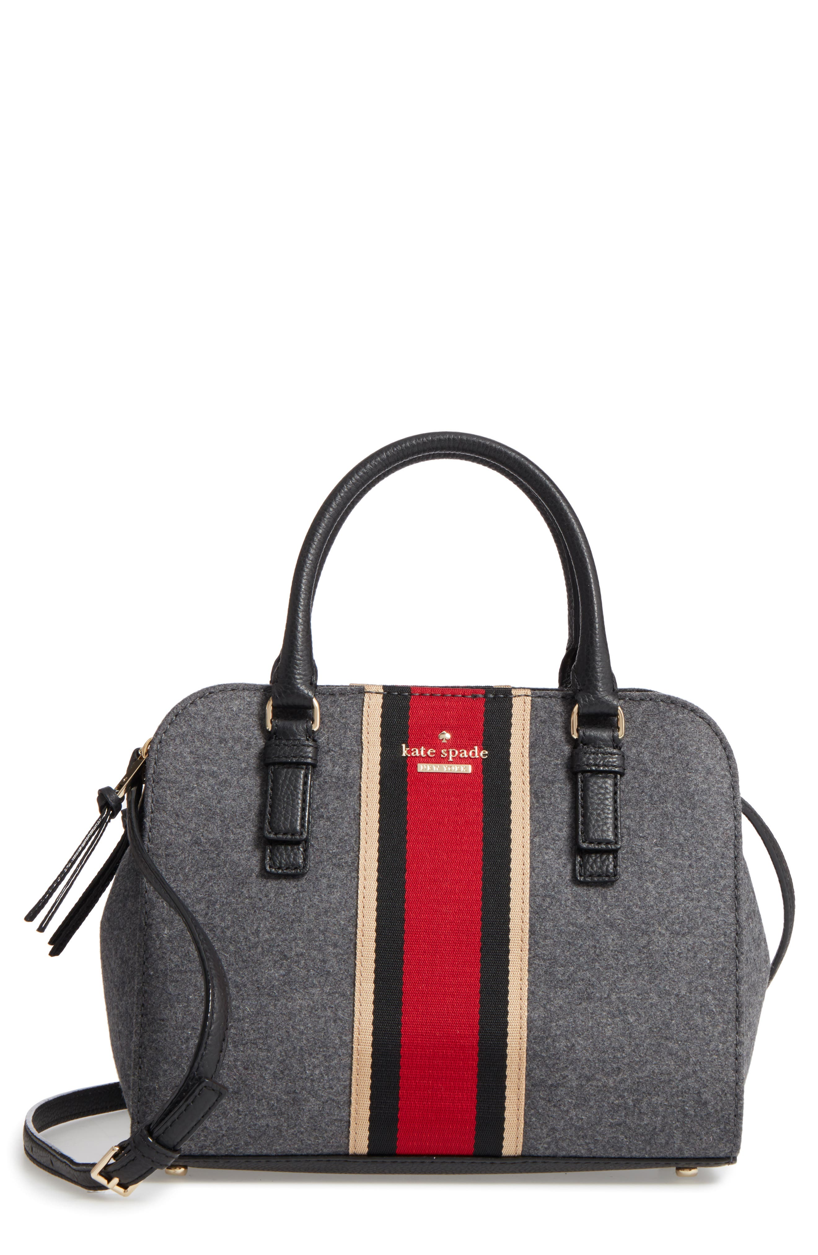 jackson street - small kiernan satchel,                         Main,                         color, Charcoal