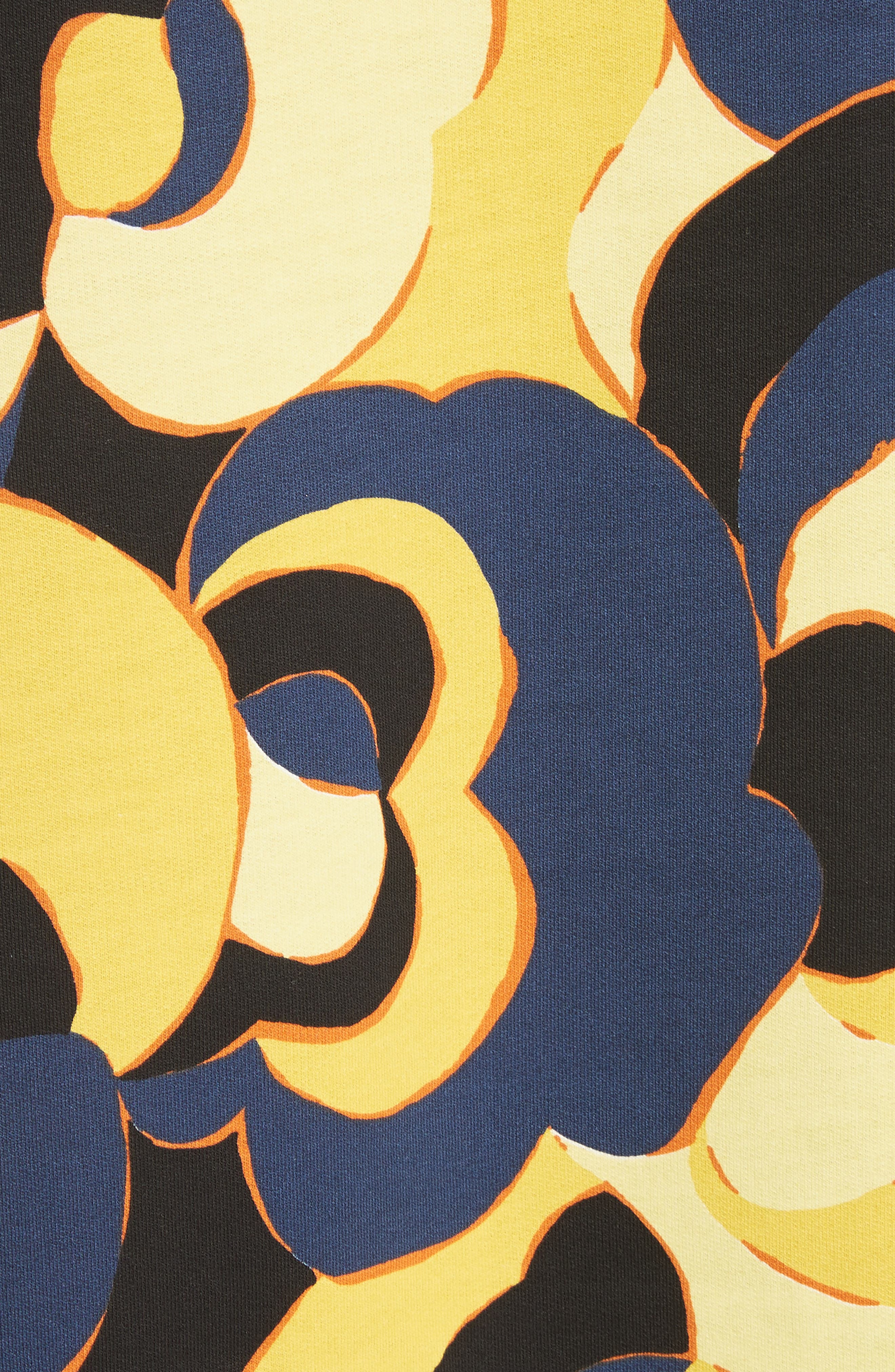Print Cotton Tee,                             Alternate thumbnail 4, color,                             Yellow