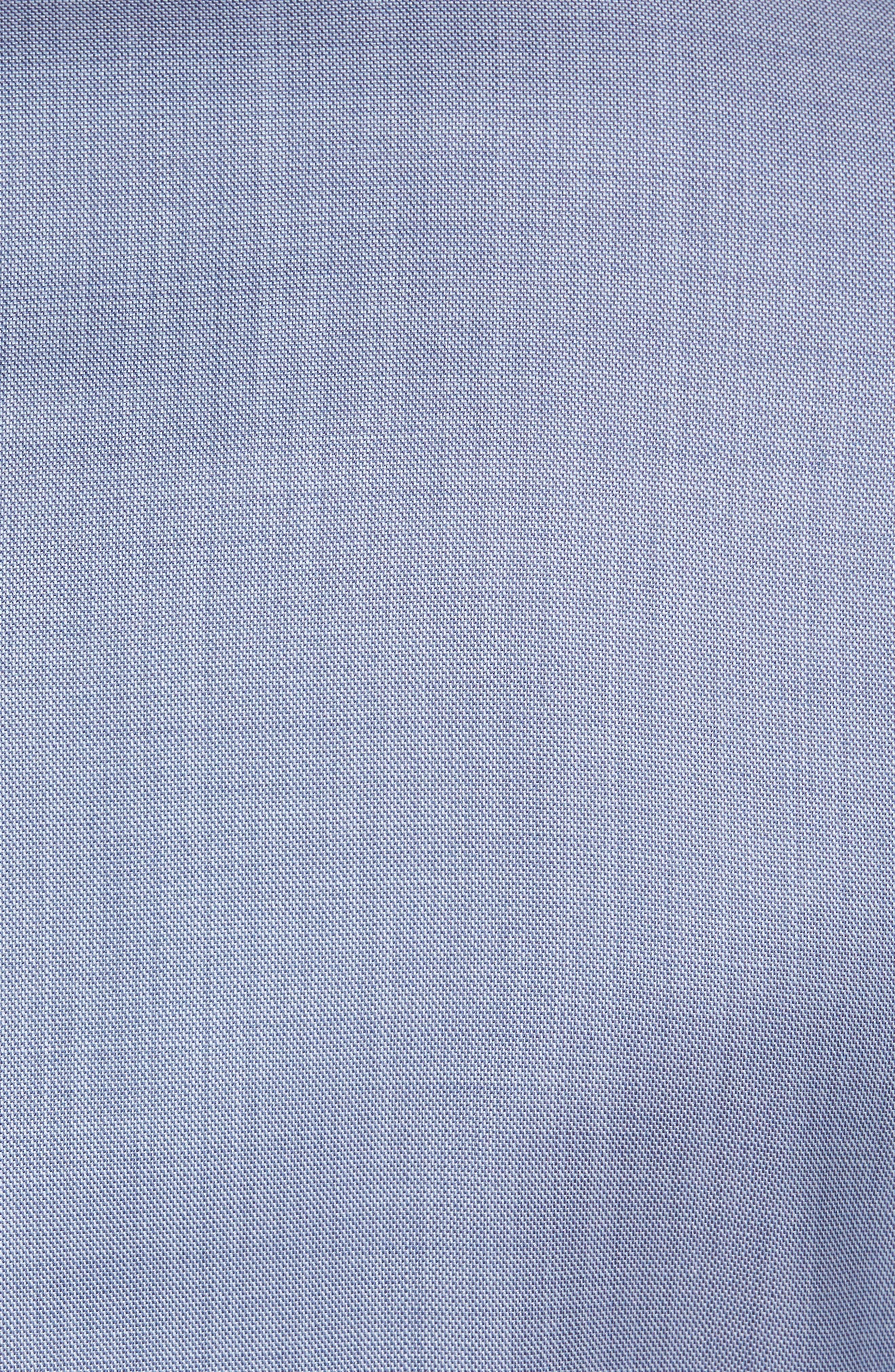 Trim Fit Solid Wool Suit,                             Alternate thumbnail 8, color,                             Light Blue