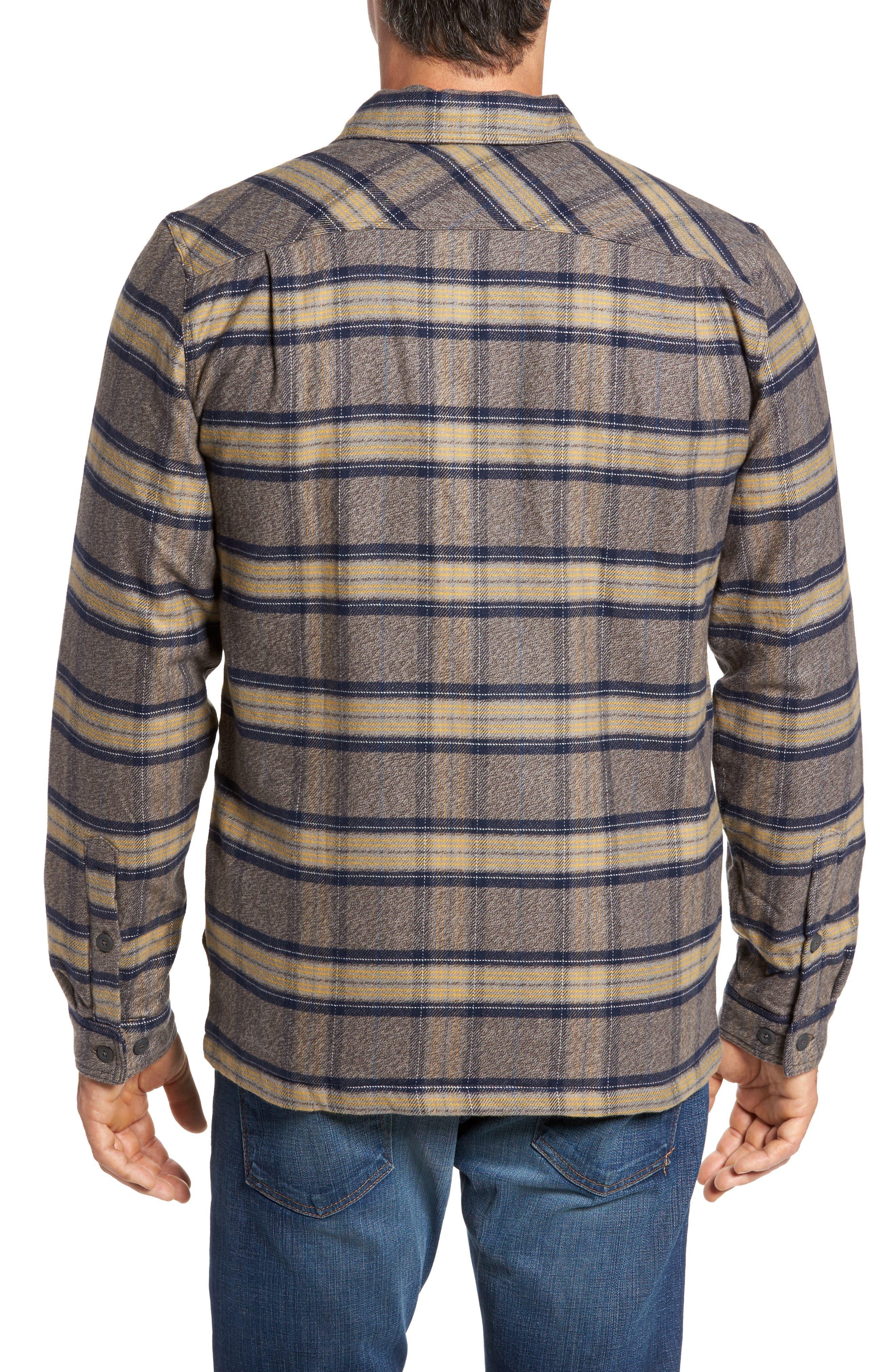 Alternate Image 2  - Patagonia 'Fjord' Flannel Shirt Jacket