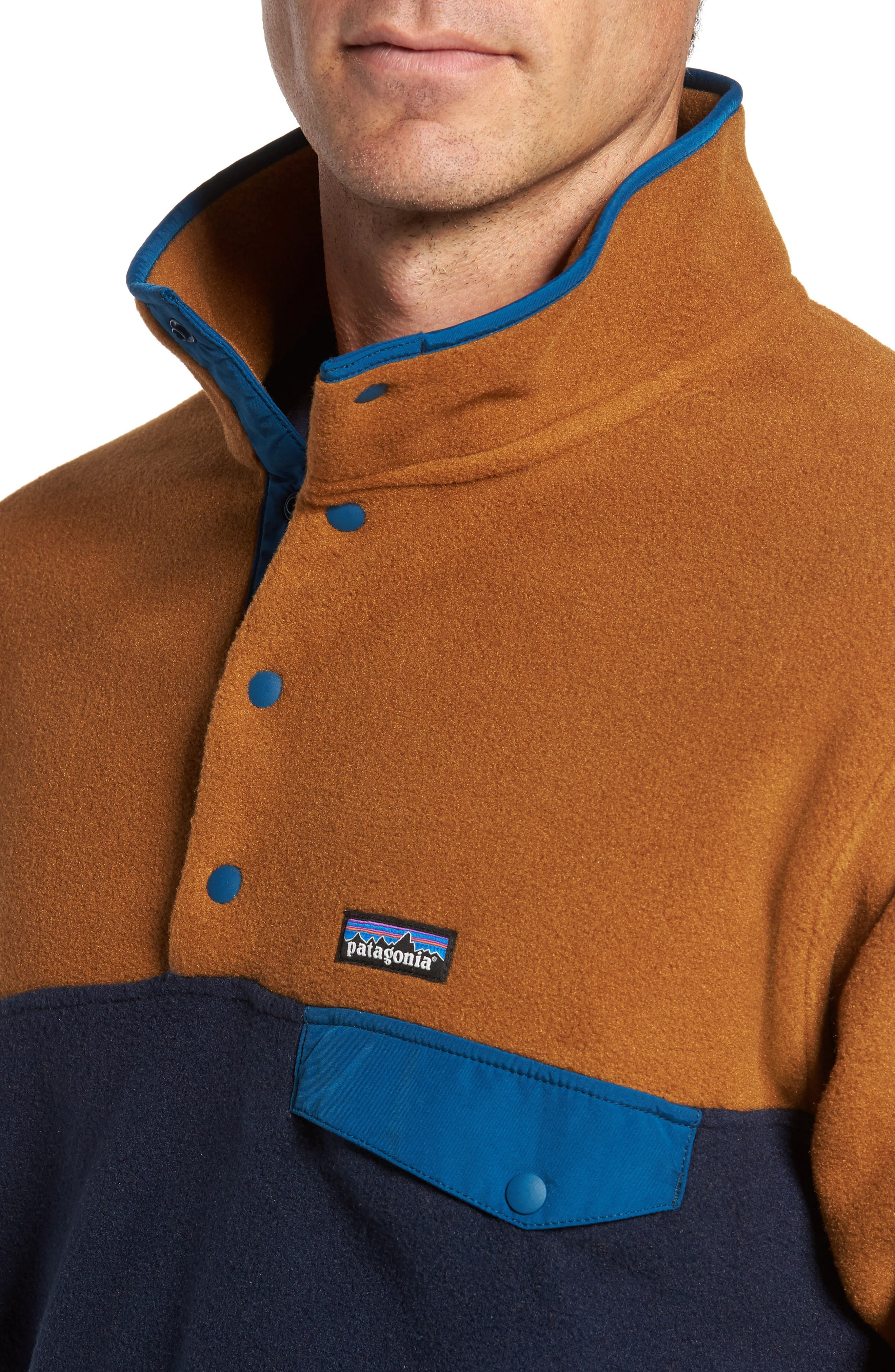 Alternate Image 4  - Patagonia 'Synchilla® Snap-T' Fleece Pullover