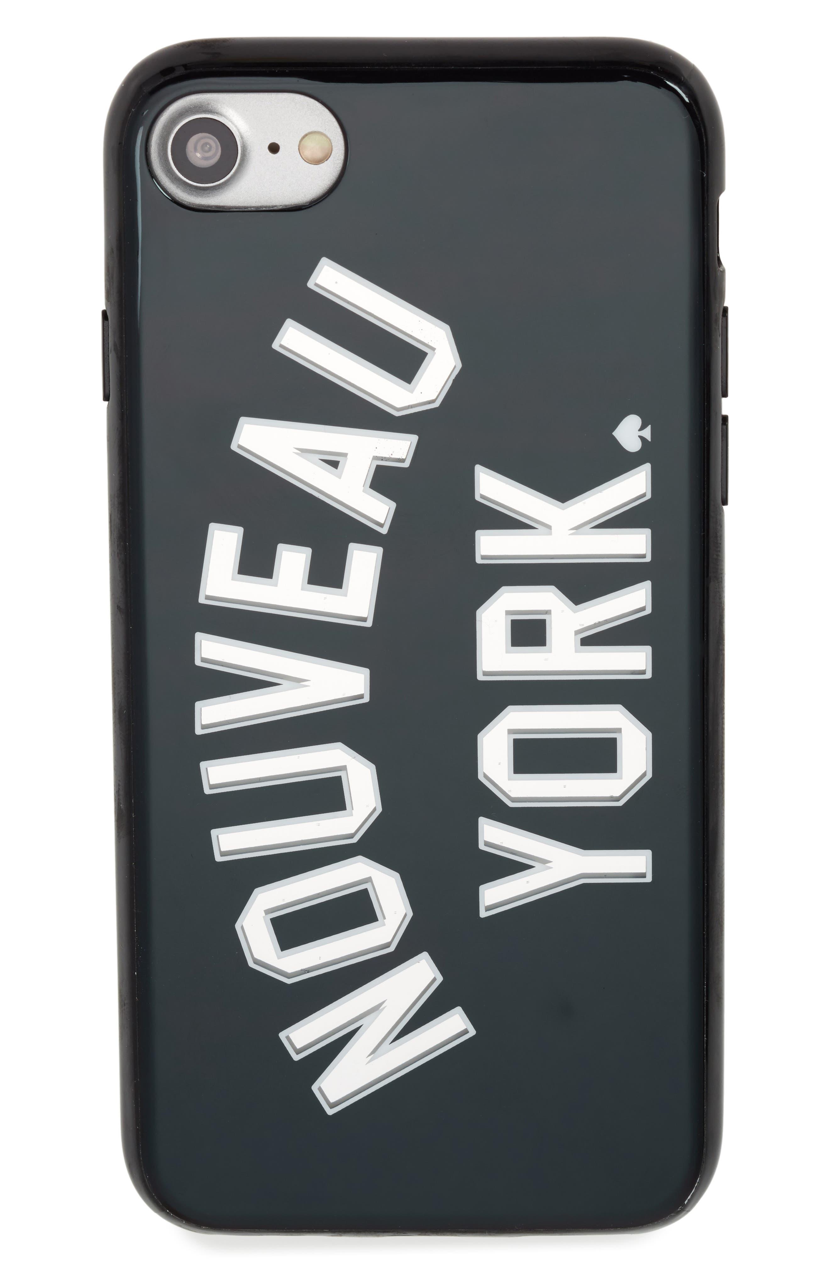 Alternate Image 1 Selected - kate spade new york nouveau york iPhone 7/8 & 7/8 Plus case