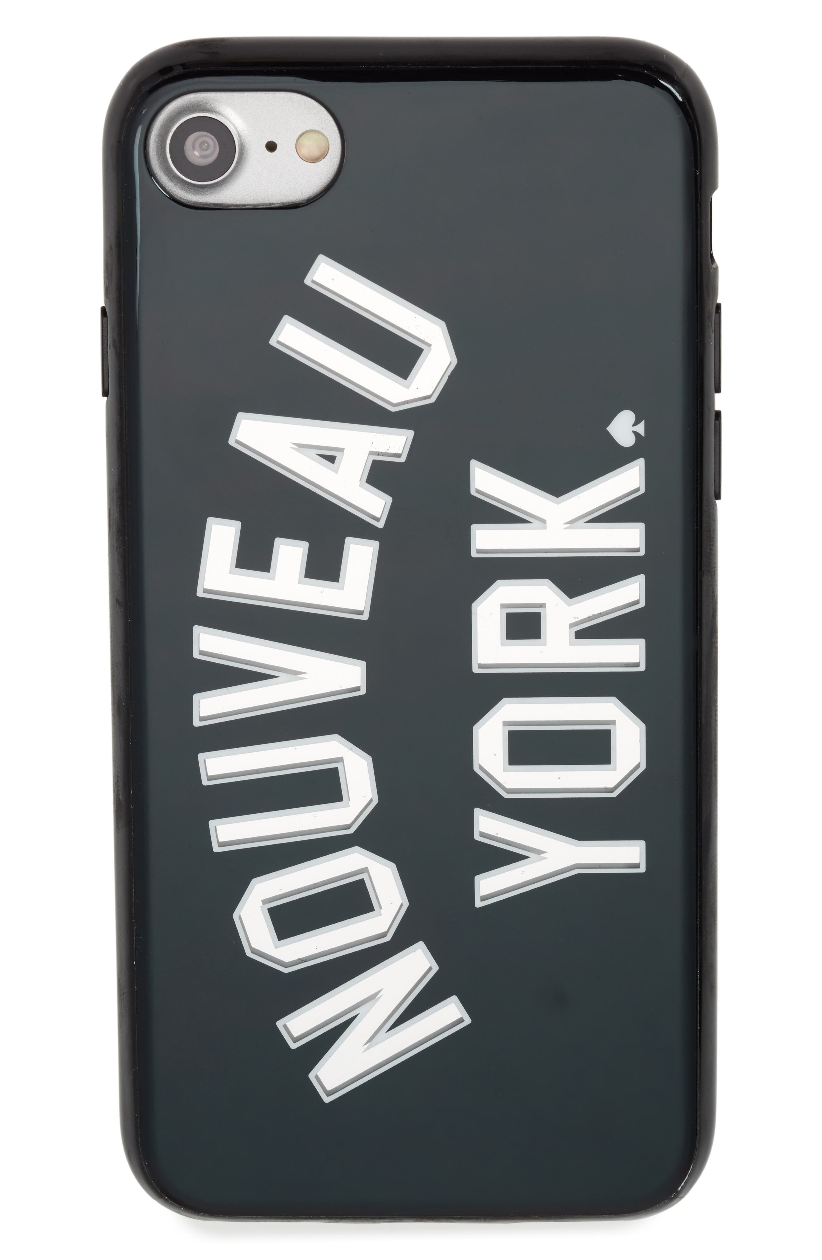 nouveau york iPhone 7/8 & 7/8 Plus case,                         Main,                         color, Grey Multi