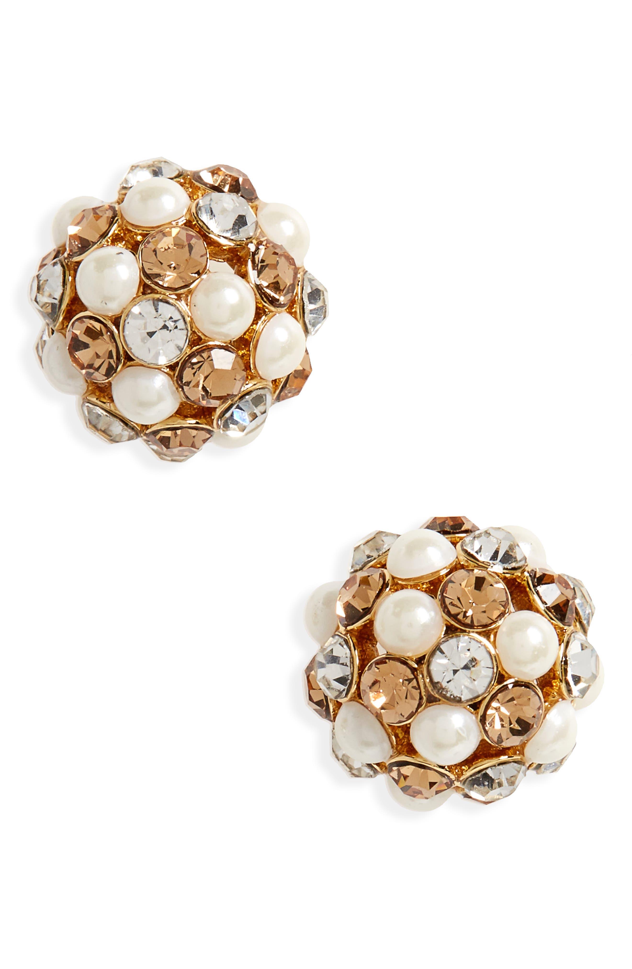 Alternate Image 1 Selected - kate spade new york ball stud earrings
