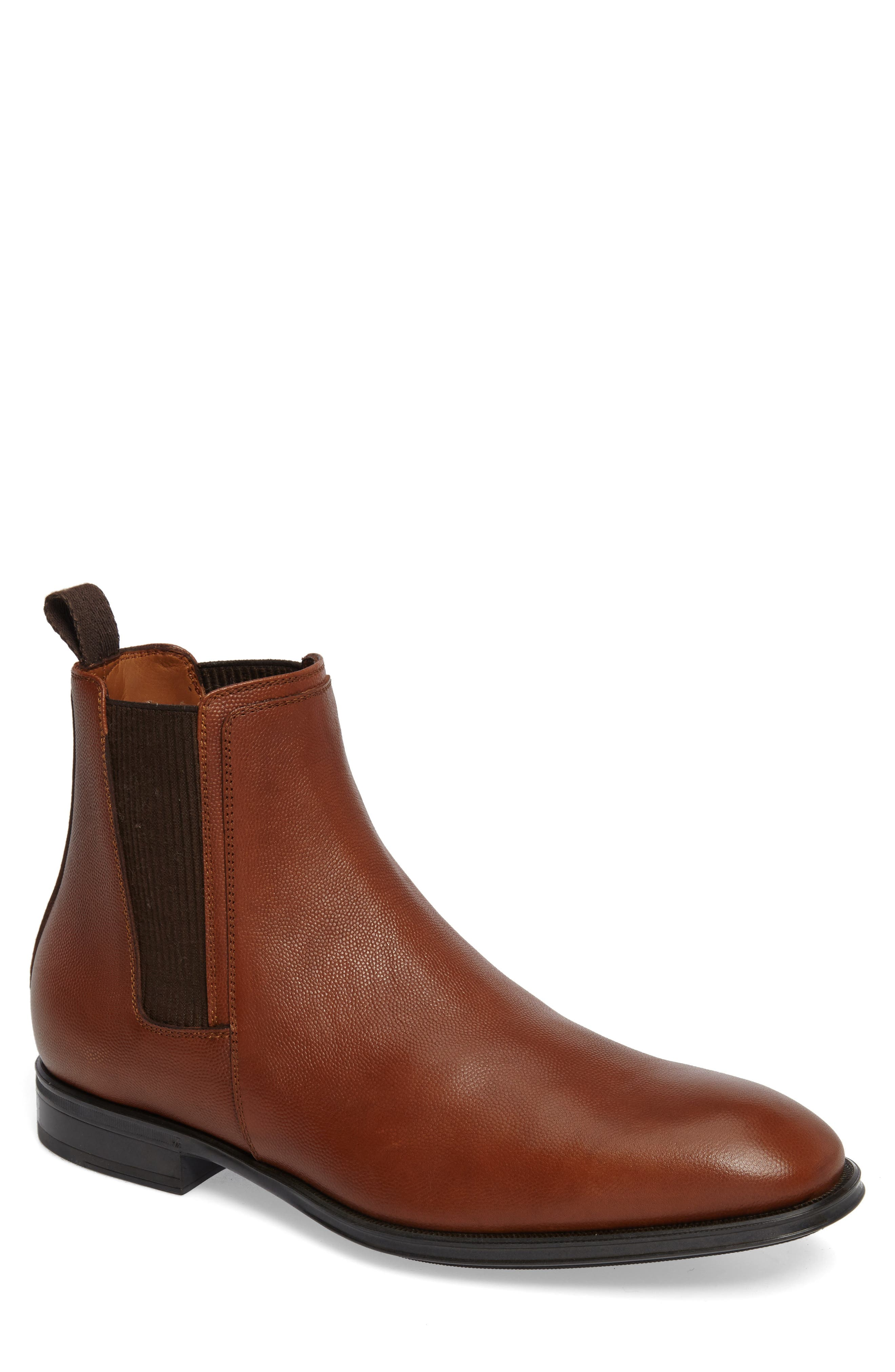 Damon Chelsea Boot,                         Main,                         color, Cognac