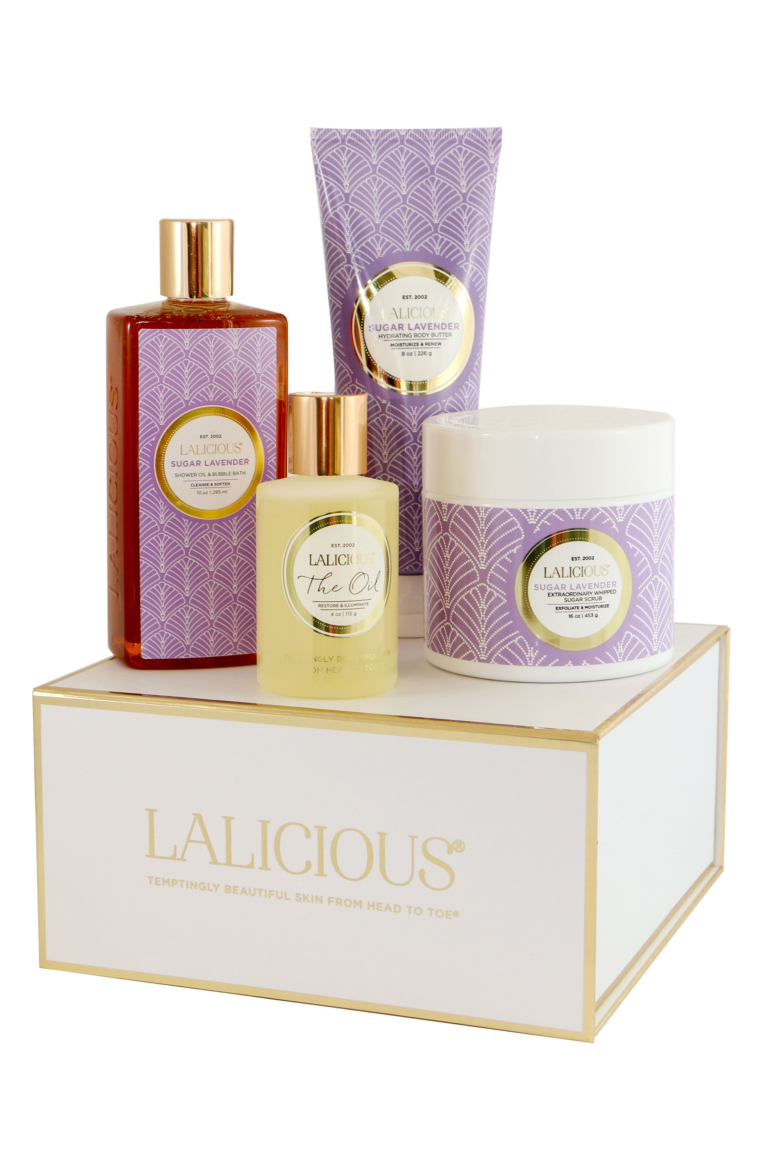 LALICIOUS Sugar Lavender At Home Spa Collection (Nordstrom Exclusive) ($117 Value)